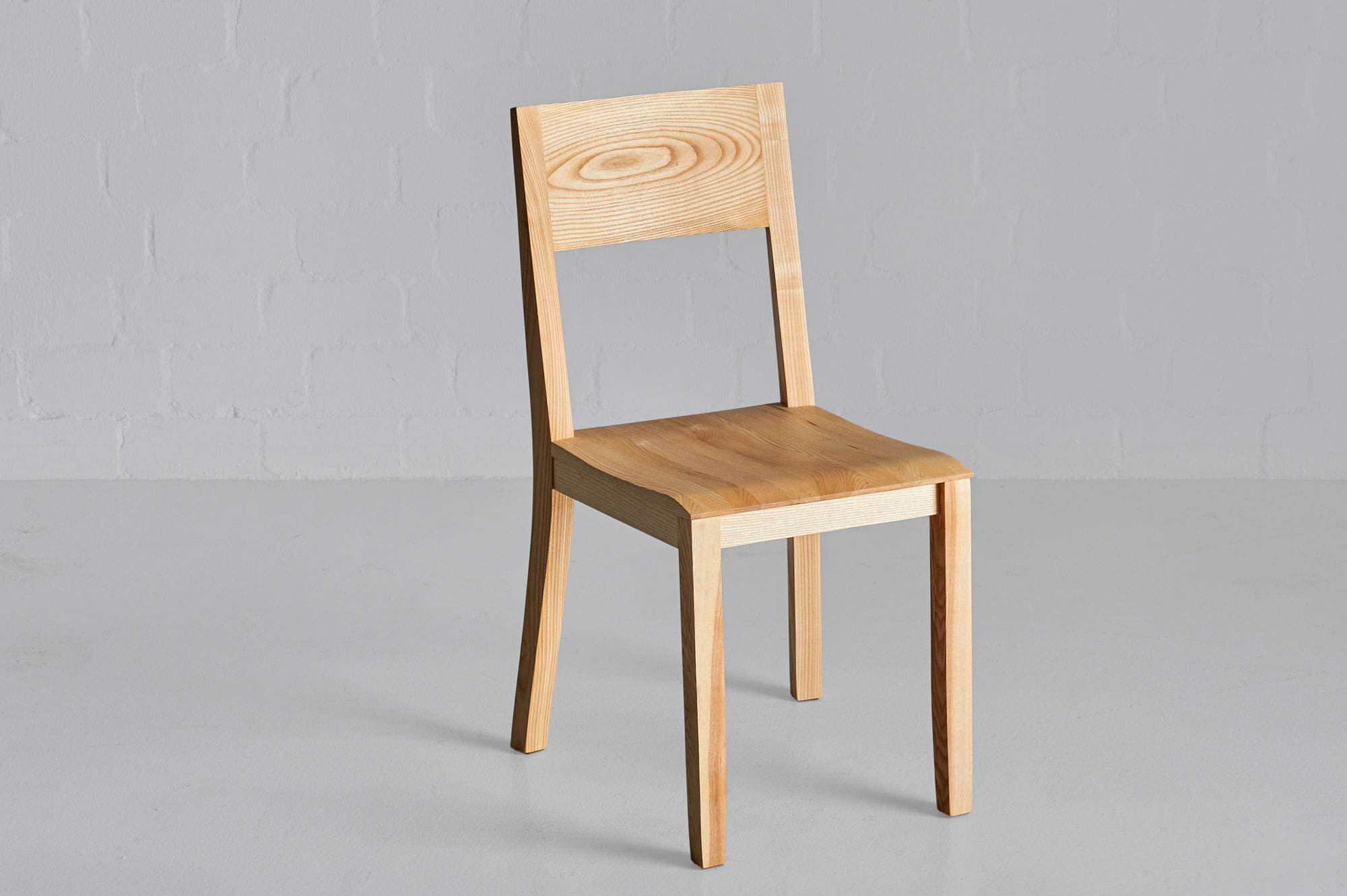 Dining Room Wooden Chair NOMI Nomi4562 custom made in solid wood by vitamin design