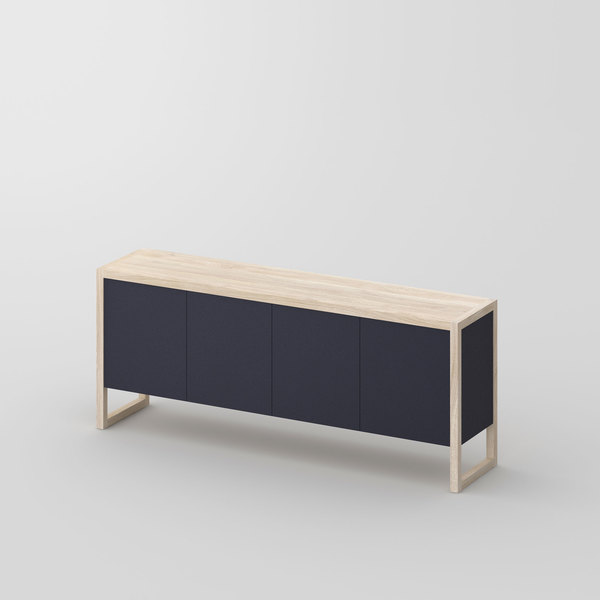 BIO-MDF Wood Sideboard SENA cam1 custom made in solid wood by vitamin design