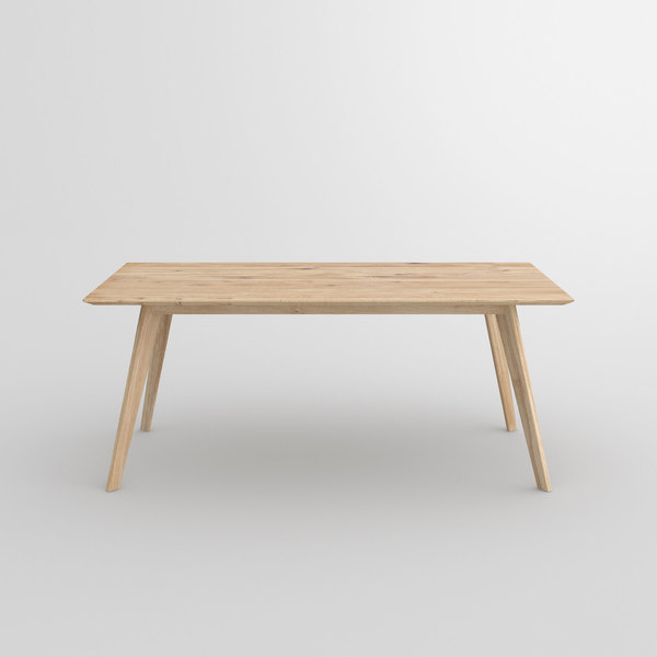 Soft Solid Wood Table CITIUS SOFT cam2 custom made in solid wood by vitamin design