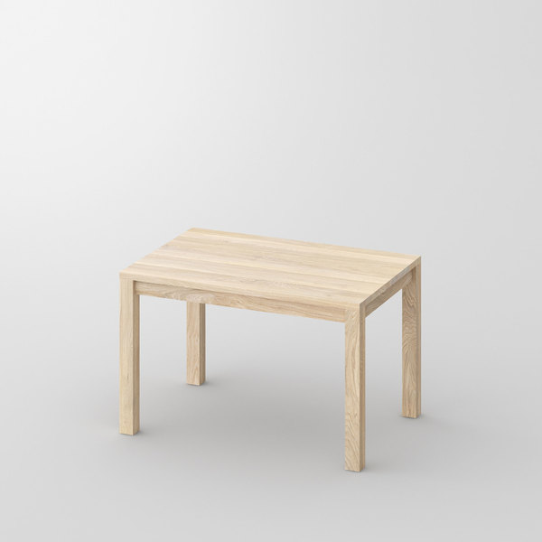 Solid Wood Dining Table CUBUS 3 B7X7 cam1 custom made in solid wood by vitamin design