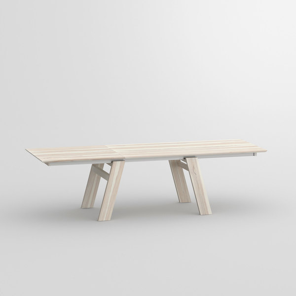 Solid Wood Extendable Table CULTUS BUTTERFLY cam1 custom made in solid wood by vitamin design