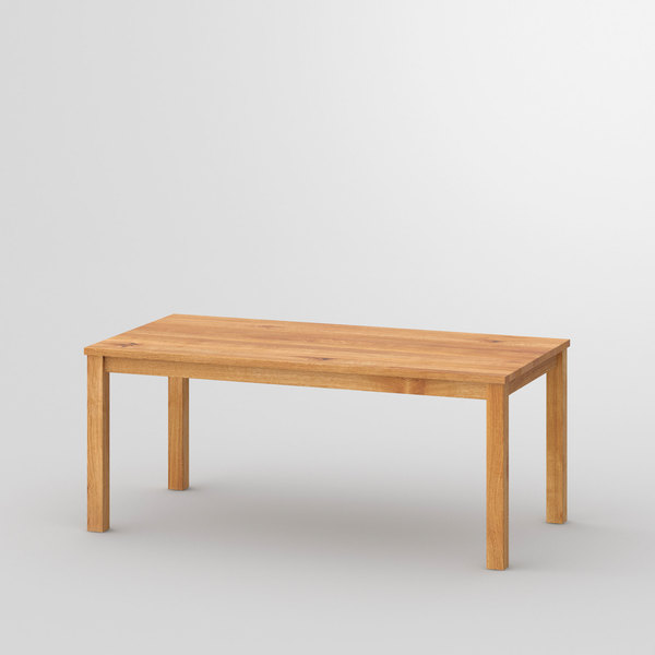 Custom-Made Solid Wood Table FORTE 3 B7X7 cam1 custom made in solid wood by vitamin design