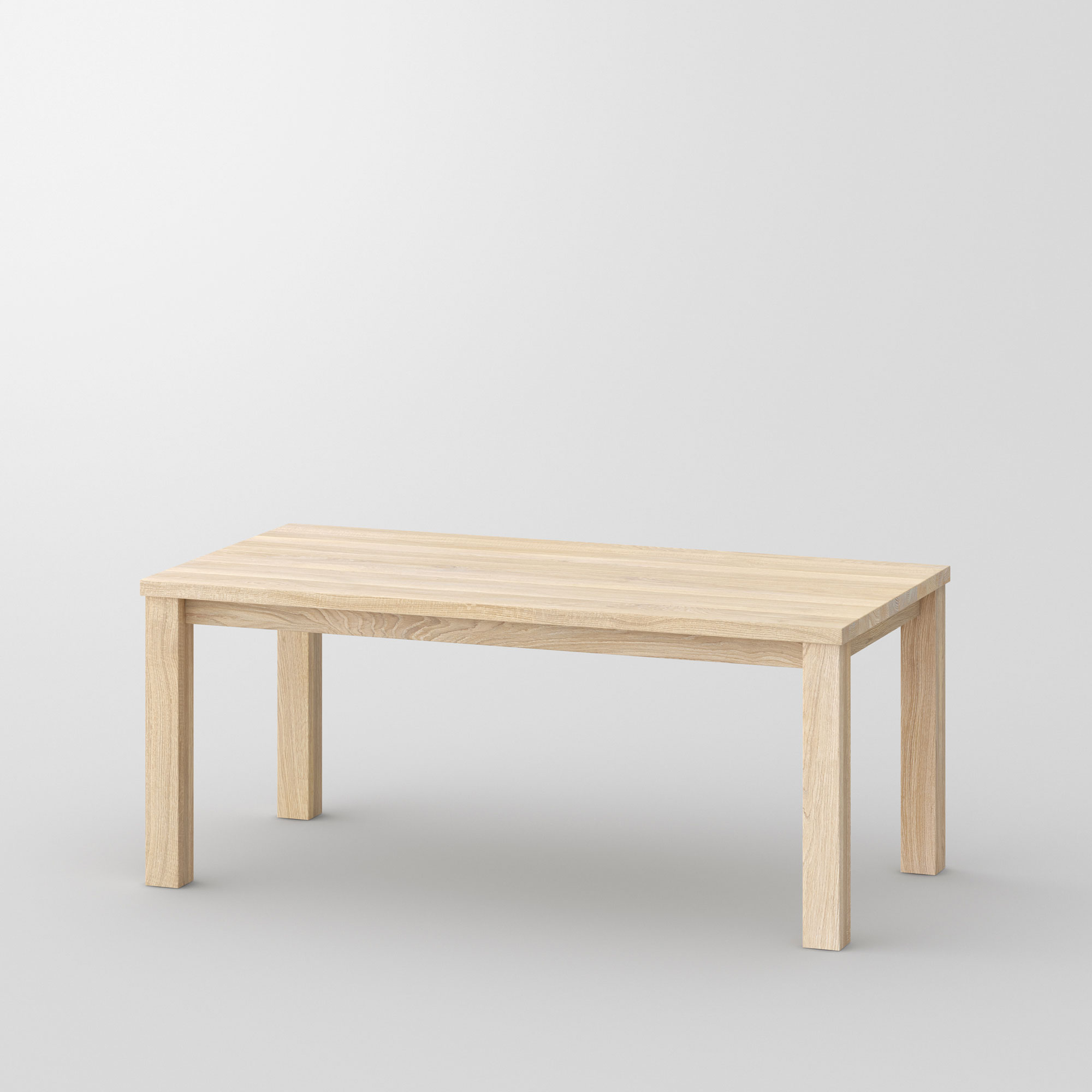 Tailor-Made Solid Wood Table FORTE 4 B9X9 cam1 custom made in solid wood by vitamin design