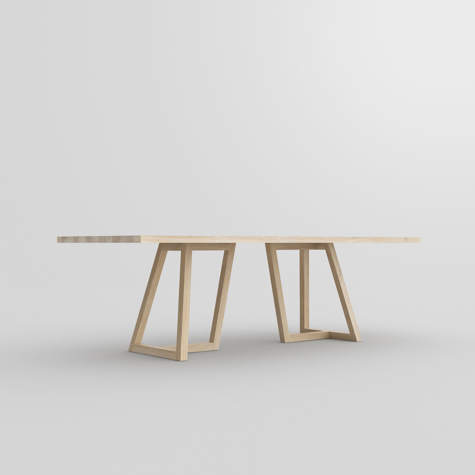 Designer Solid Wood Table MARGO cam5 custom made in solid wood by vitamin design