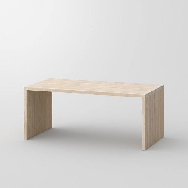 Gable Table MENA cam1 custom made in solid wood by vitamin design