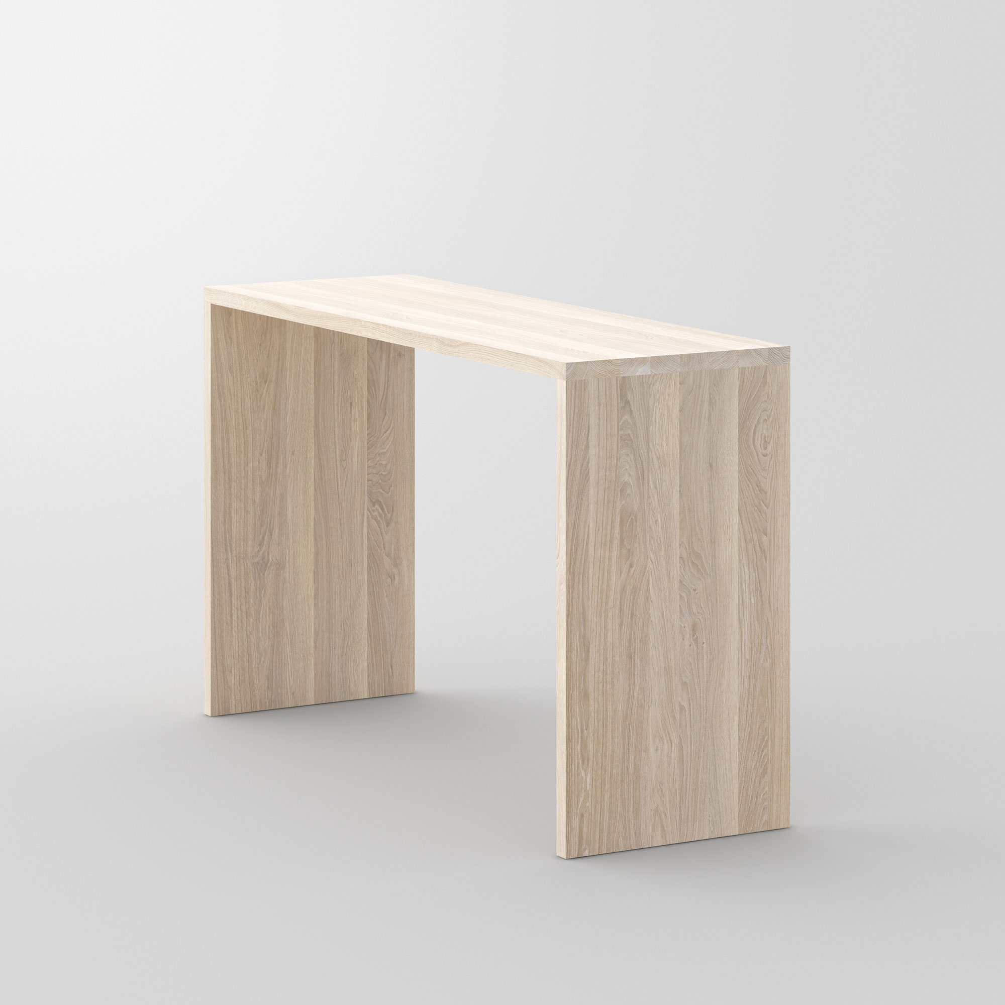 Solid Wood Console Table MENA CONSOLE cam3 custom made in solid wood by vitamin design