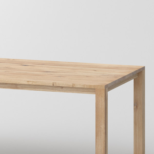 Variable Dining Table VARIUS BASIC cam0 custom made in solid wood by vitamin design