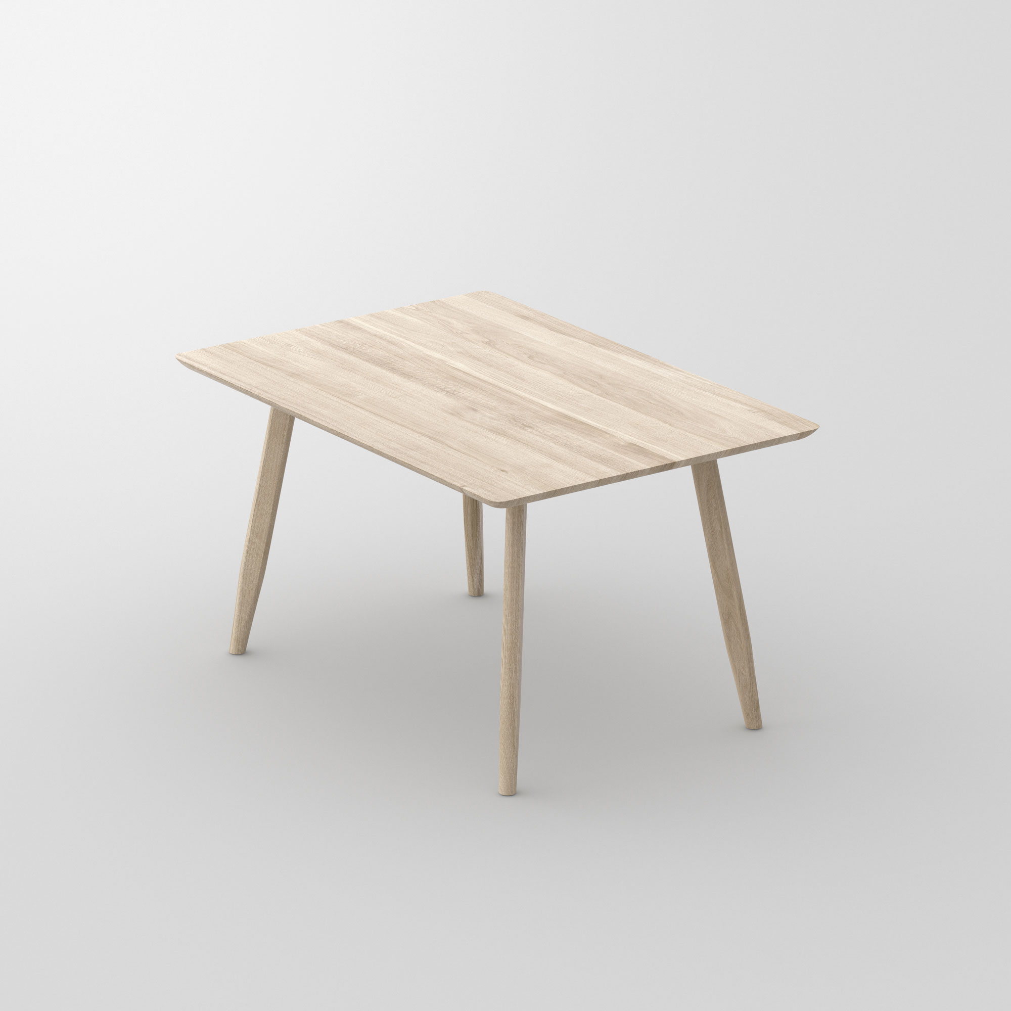 Designer Dining Table Wood AETAS BASIC 3 cam1 custom made in solid wood by vitamin design