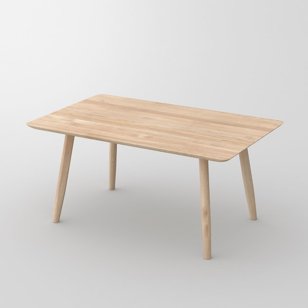 Stylish Dining Table AETAS BASIC 4 cam1 custom made in solid wood by vitamin design