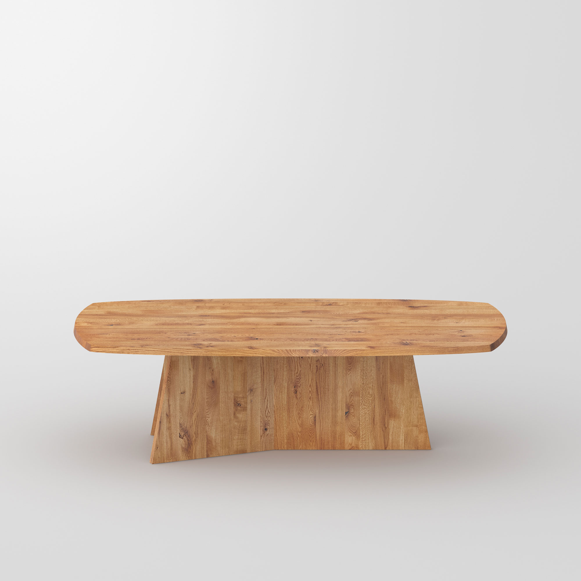 Design Dining Table LOTUS cam3 custom made in solid wood by vitamin design