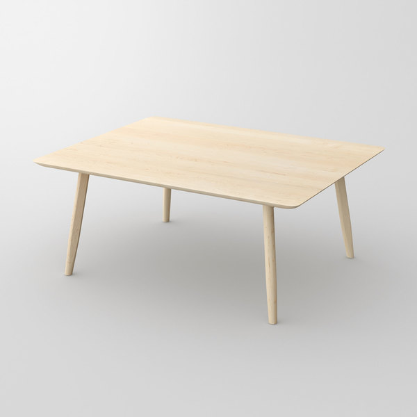 Designer Solid Wood Table AETAS vitamin-design custom made in solid wood by vitamin design