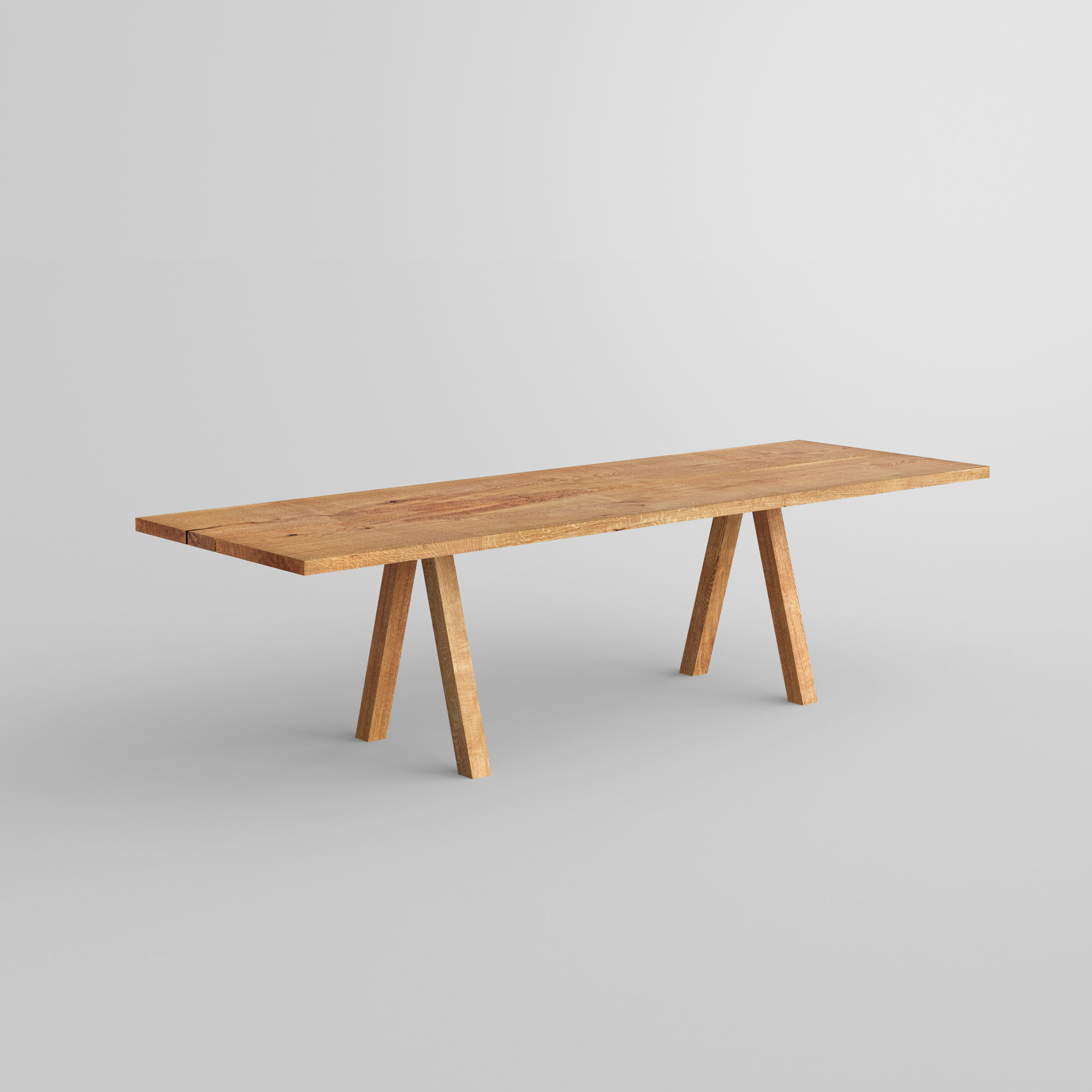 Designer Tree Trunk Table PAPILIO SIMPLE STAEIO custom made in solid wood by vitamin design