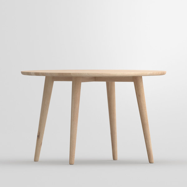 Dining Table Round AMBIO ROUND vitamin-design custom made in solid wood by vitamin design