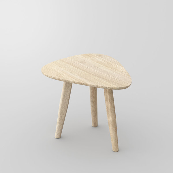 Design Side Table Night table AETAS SPACE vitamin-design custom made in solid wood by vitamin design