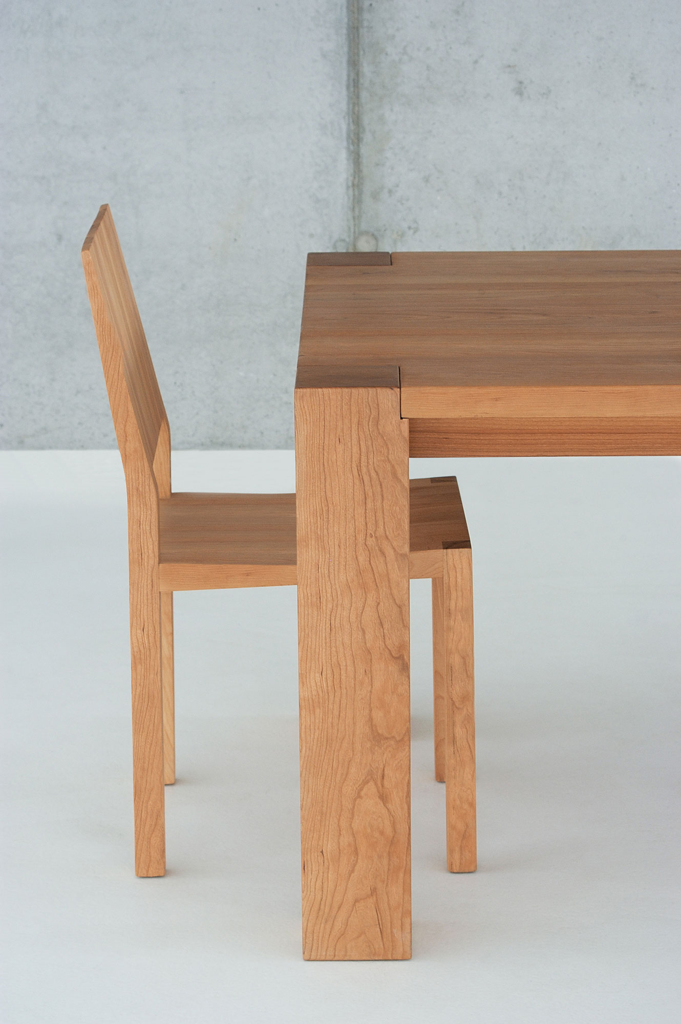 Rustic Solid Wood Table TAURUS 4 B14X14 0541 custom made in solid wood by vitamin design