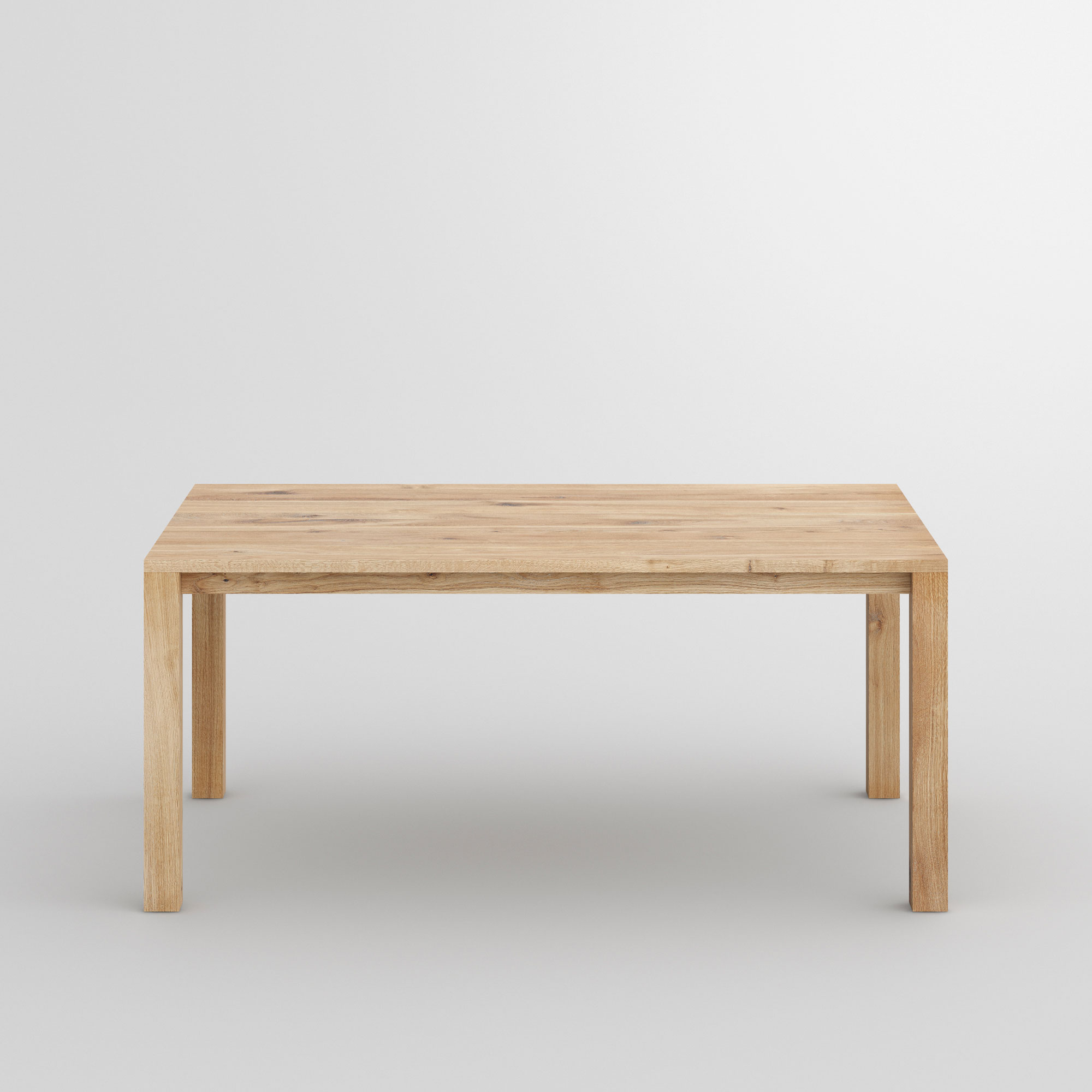 Variable Dining Table VARIUS BASIC cam2 custom made in solid wood by vitamin design