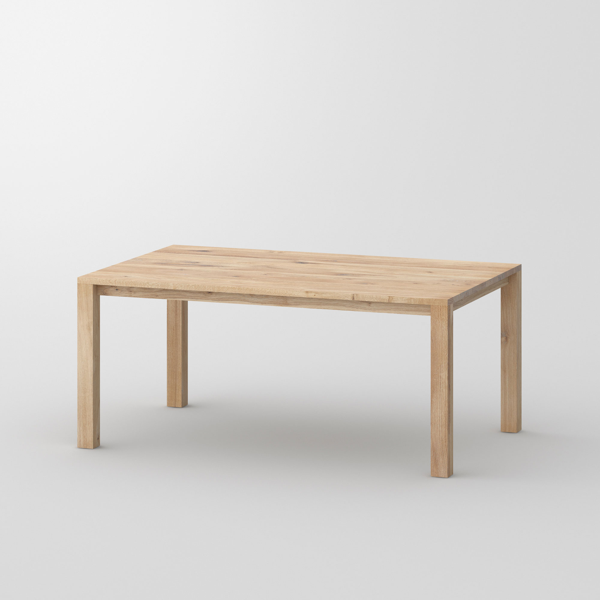 Variable Dining Table VARIUS BASIC cam1 custom made in solid wood by vitamin design