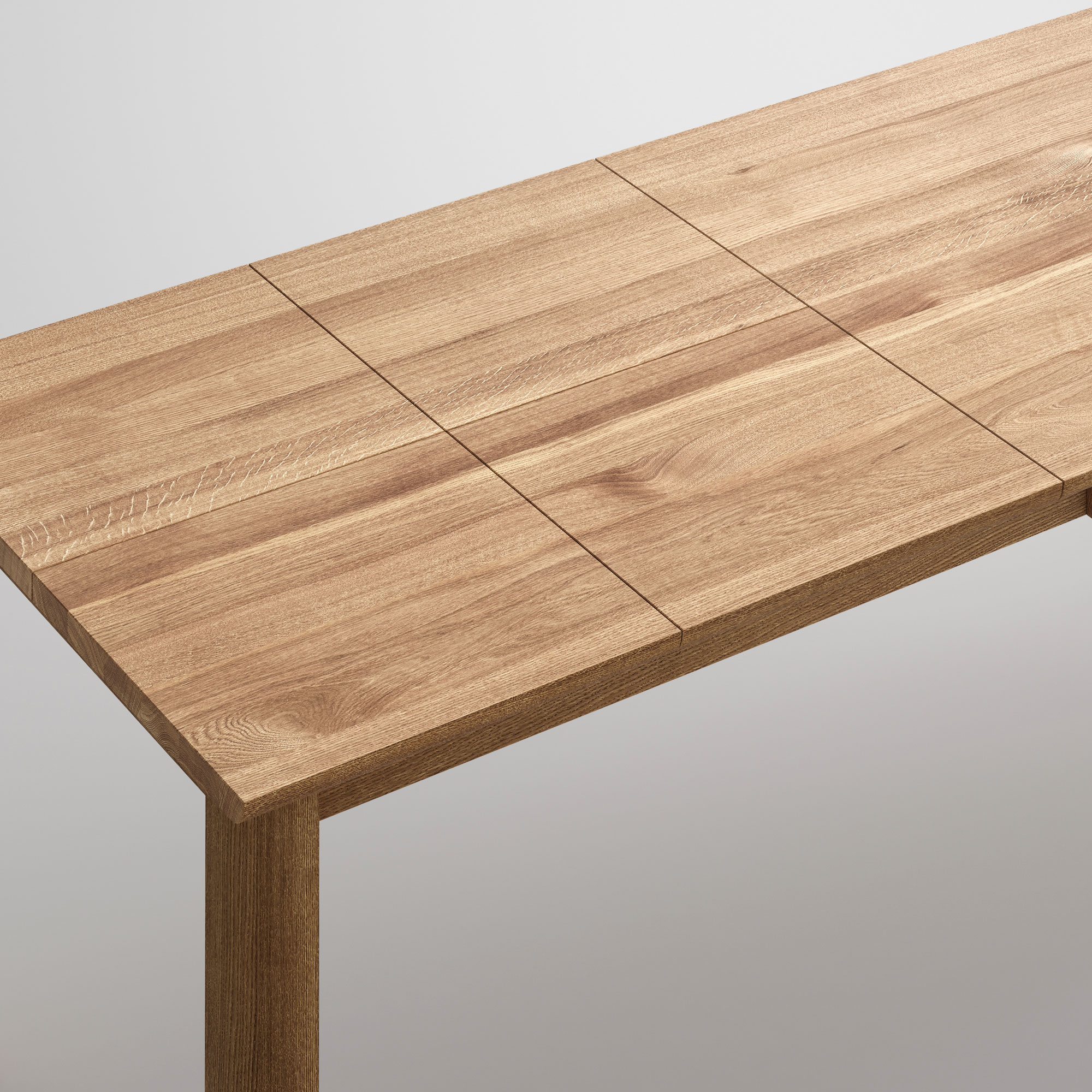 Extendable Dining Table VIVUS BUTTERFLY Cam4-SP2 custom made in solid wood by vitamin design