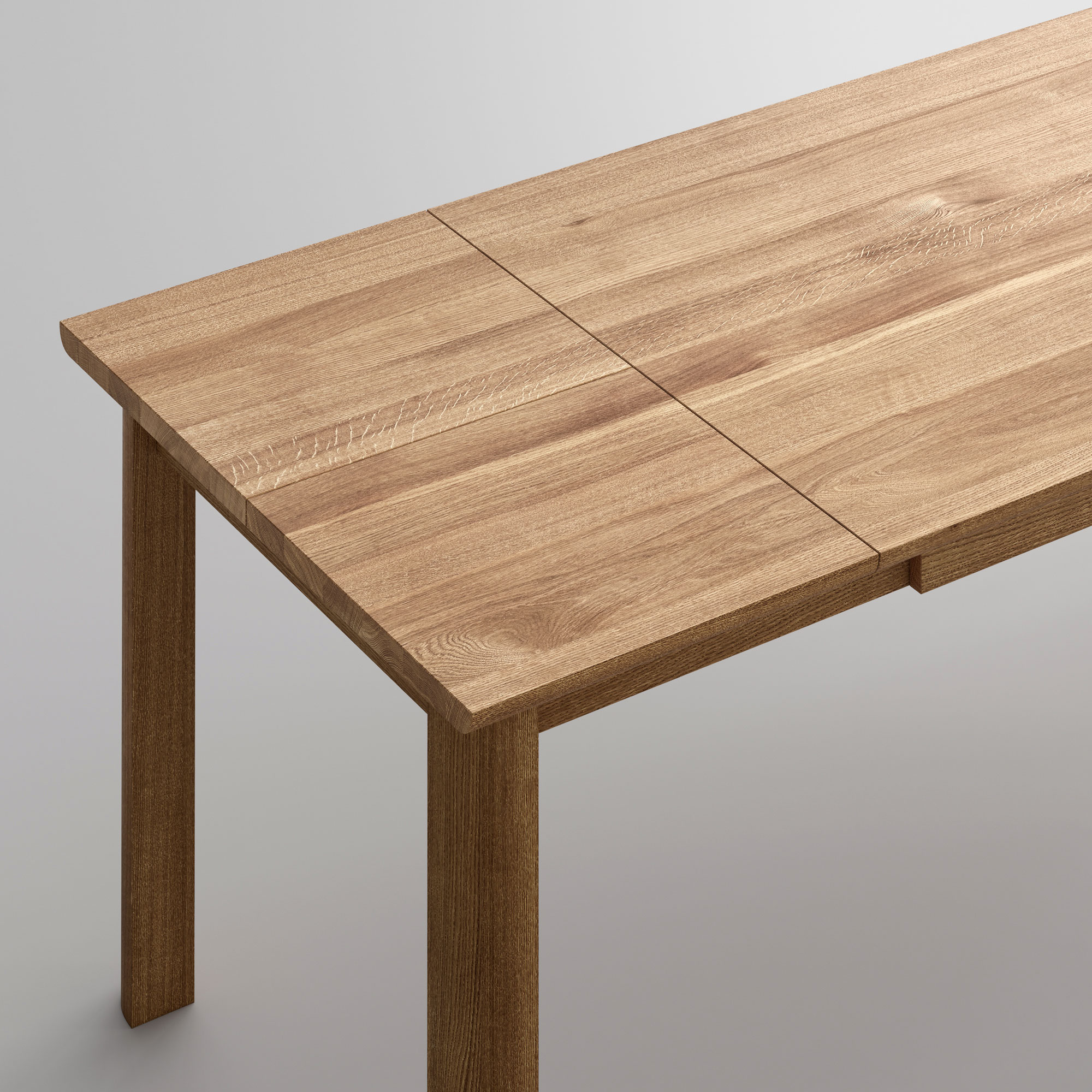 Extendable Dining Table VIVUS BUTTERFLY Cam4-SP1 custom made in solid wood by vitamin design