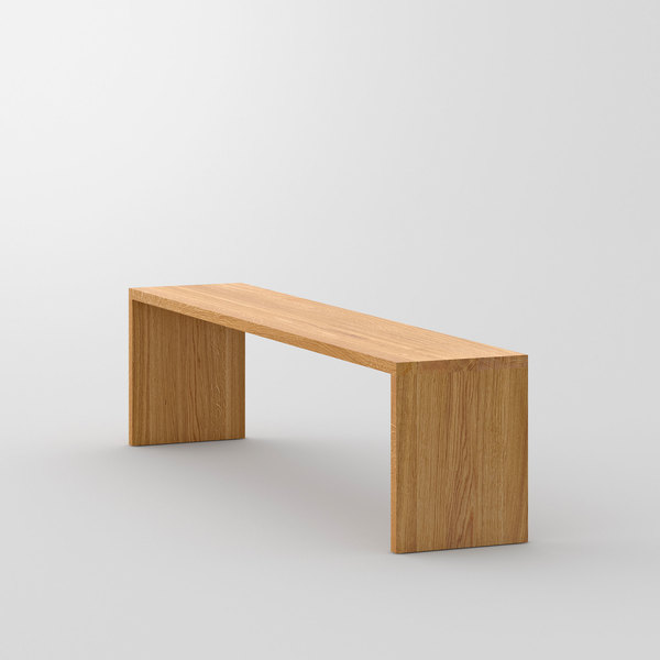 Solid Wood Bench MENA 3 cam3 custom made in solid wood by vitamin design