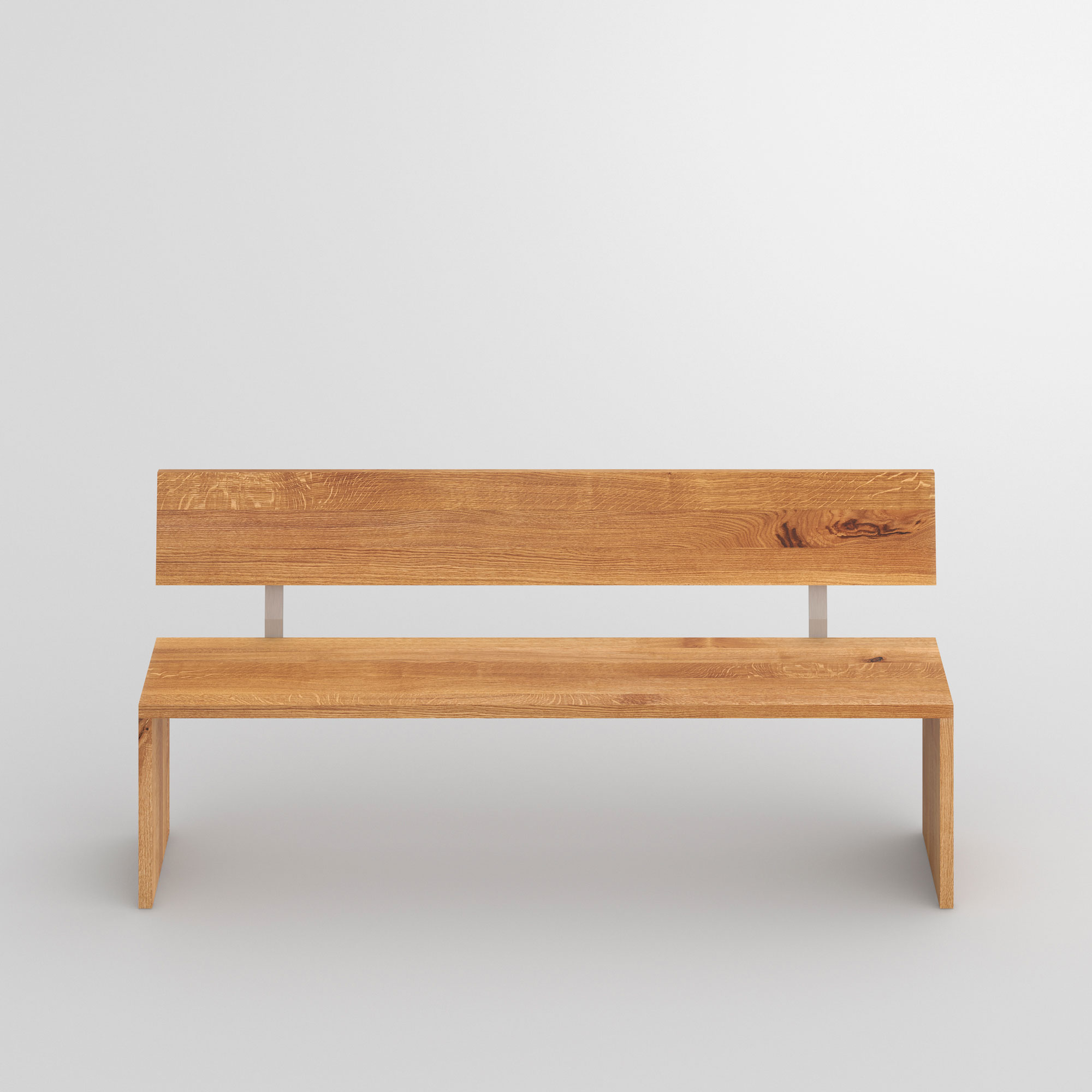 Solid Wood Bench MENA 3 cam2 custom made in solid wood by vitamin design