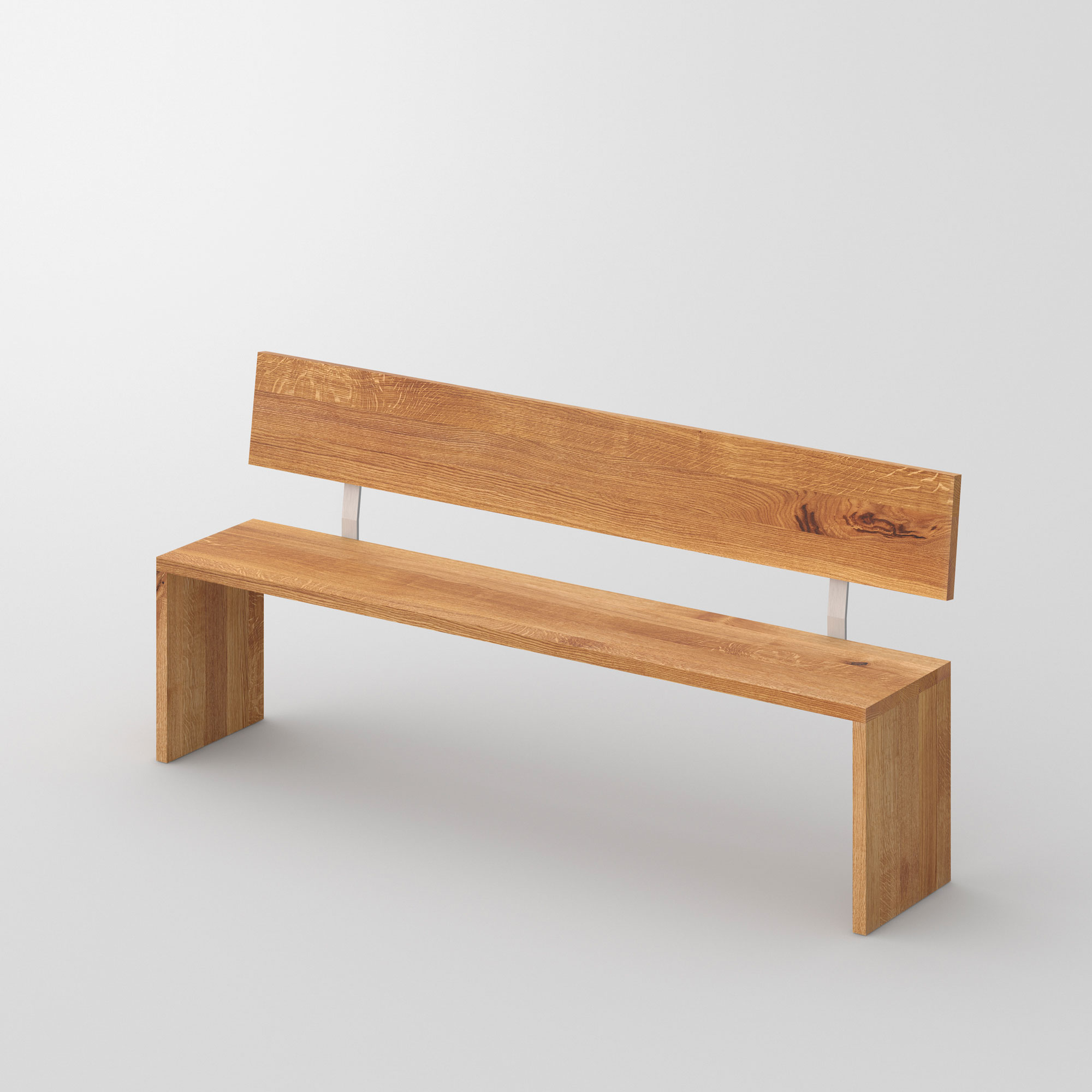 Solid Wood Bench MENA 3 cam1 custom made in solid wood by vitamin design