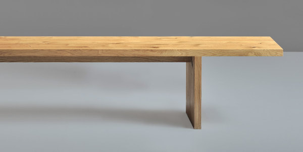 Solid Wood Bench SAGA 1422Aa custom made in solid wood by vitamin design
