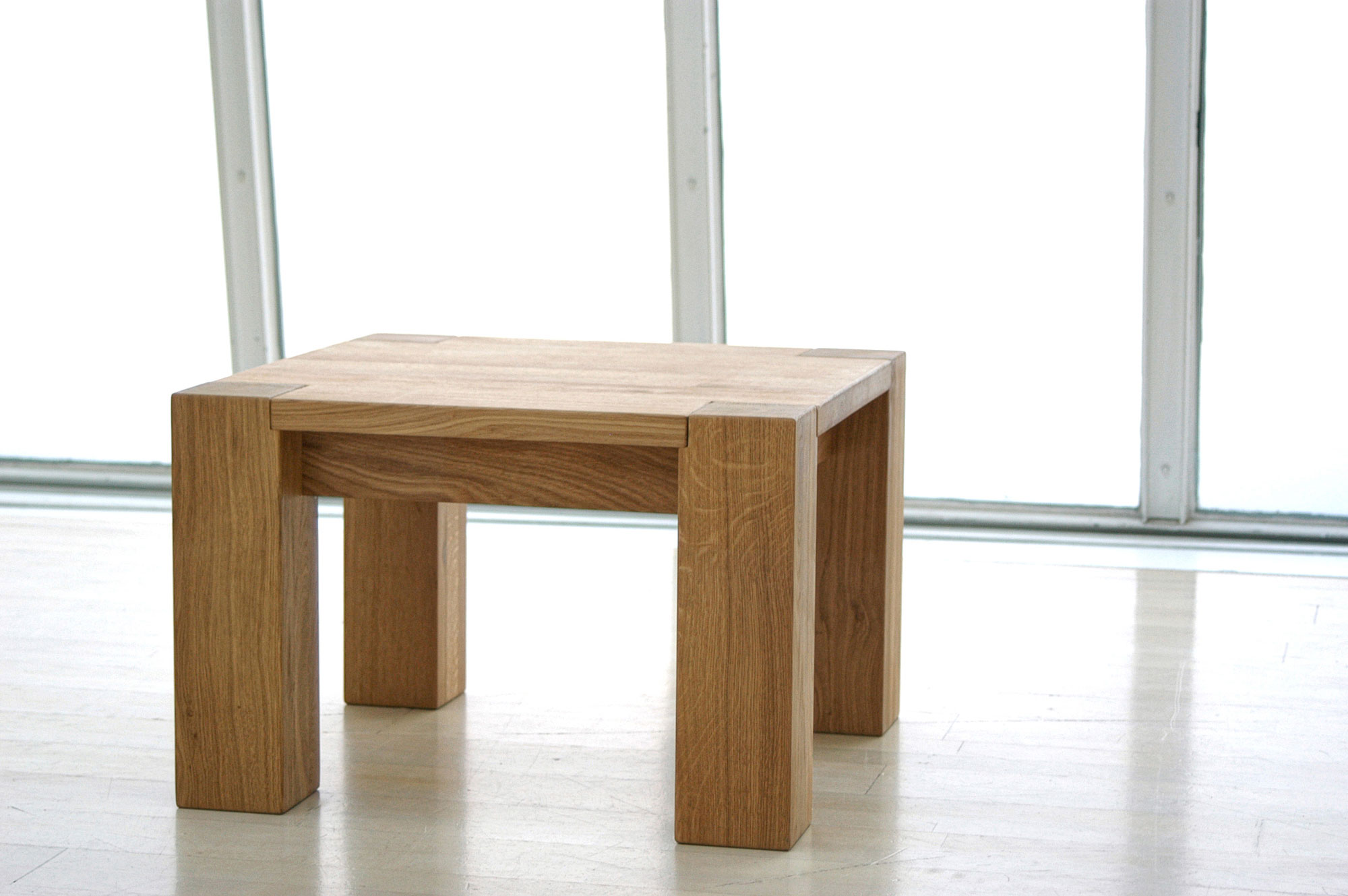 Coffee Table Rustic TAURUS 3  custom made in solid wood by vitamin design