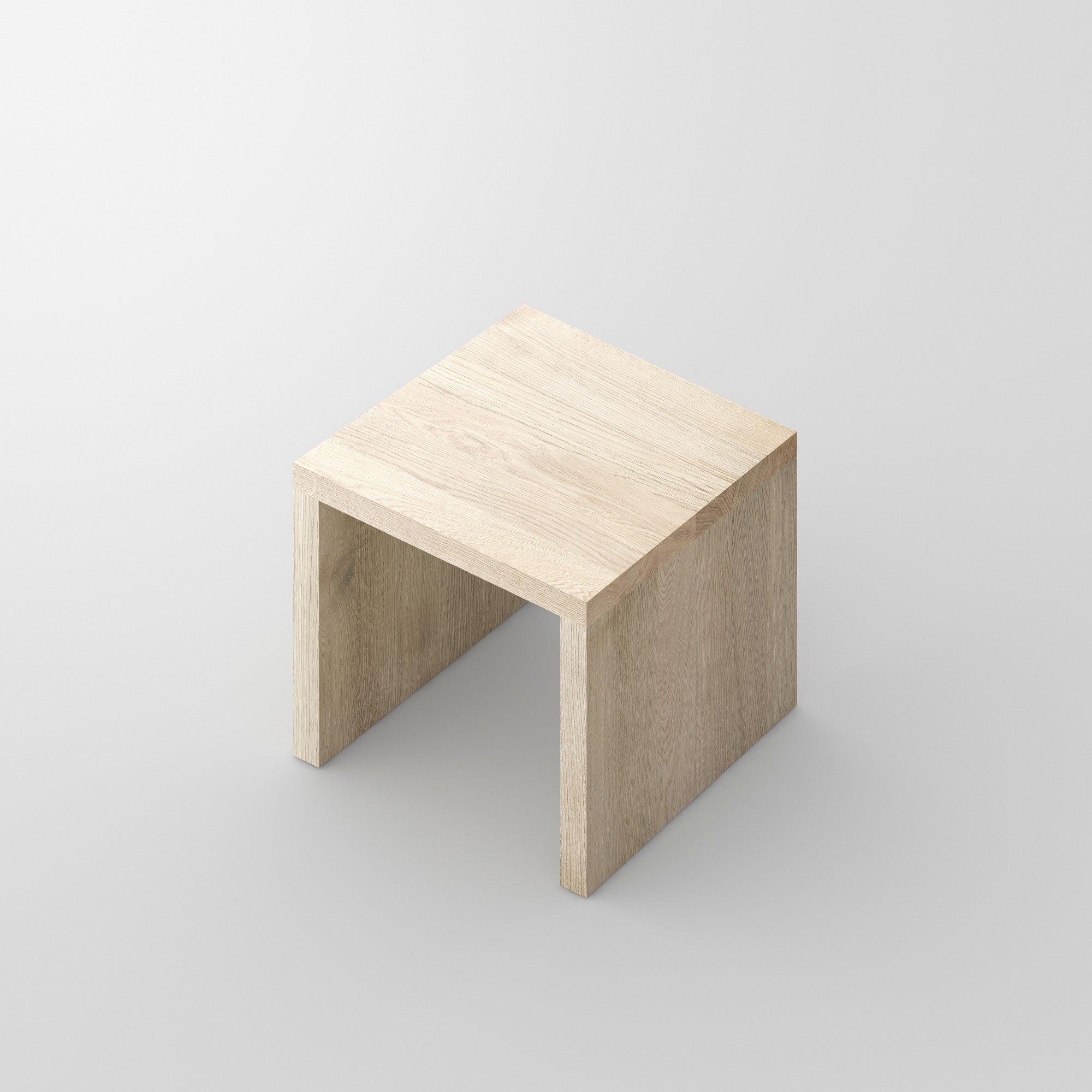 Multifunctional Solid Wood Stool MENA 4 cam3 custom made in solid wood by vitamin design