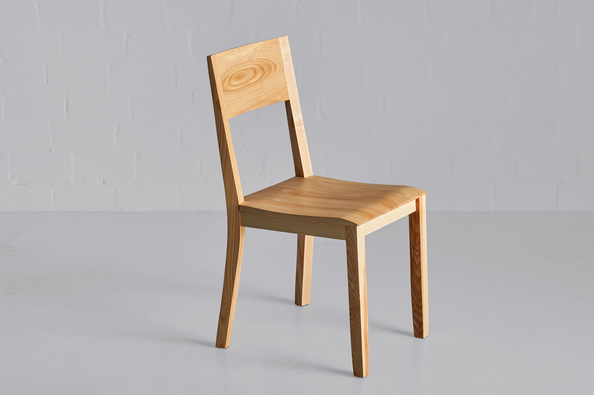 Dining Room Wooden Chair NOMI Nomi4561 custom made in solid wood by vitamin design