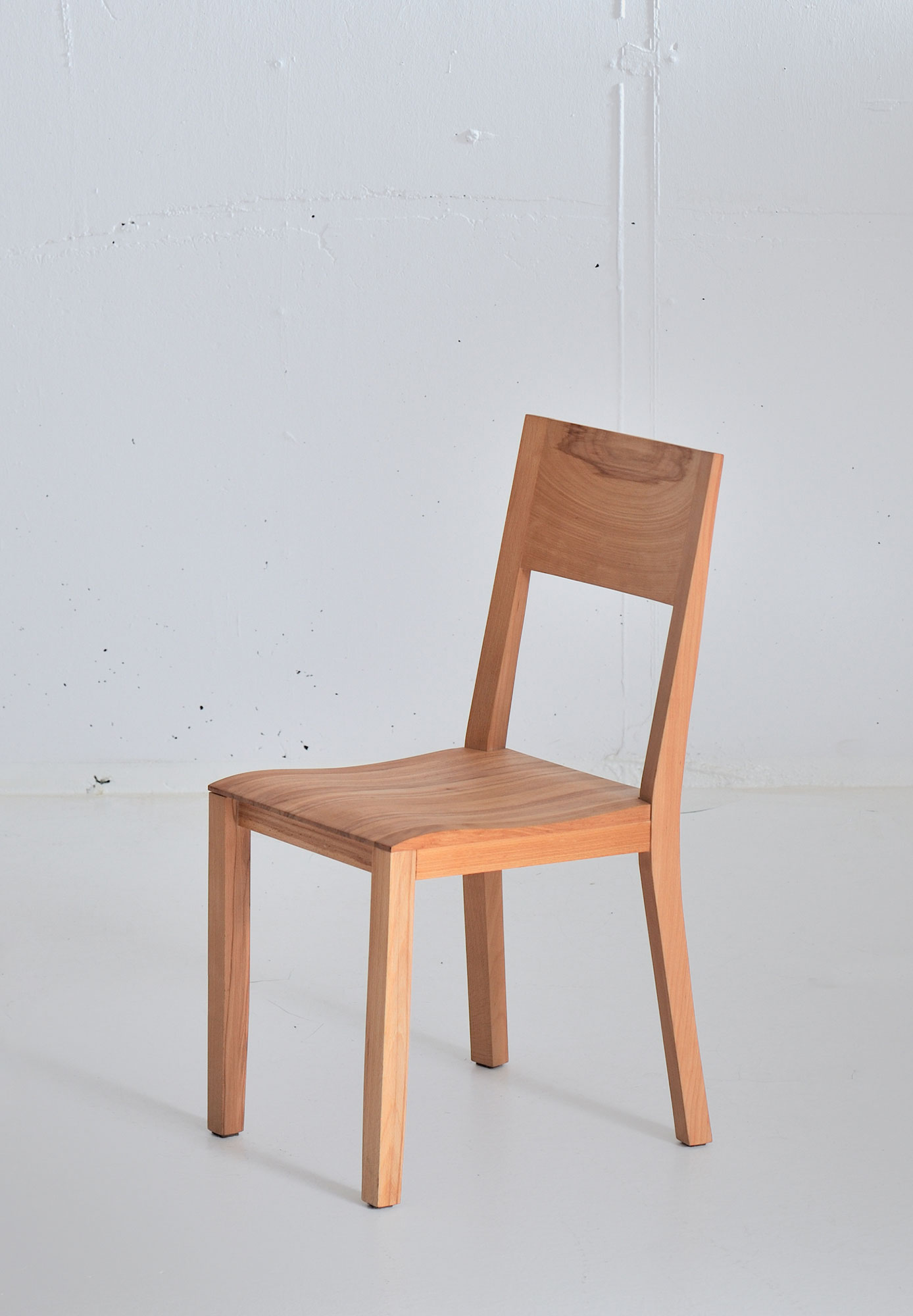 Dining Room Wooden Chair NOMI 3736 custom made in solid wood by vitamin design