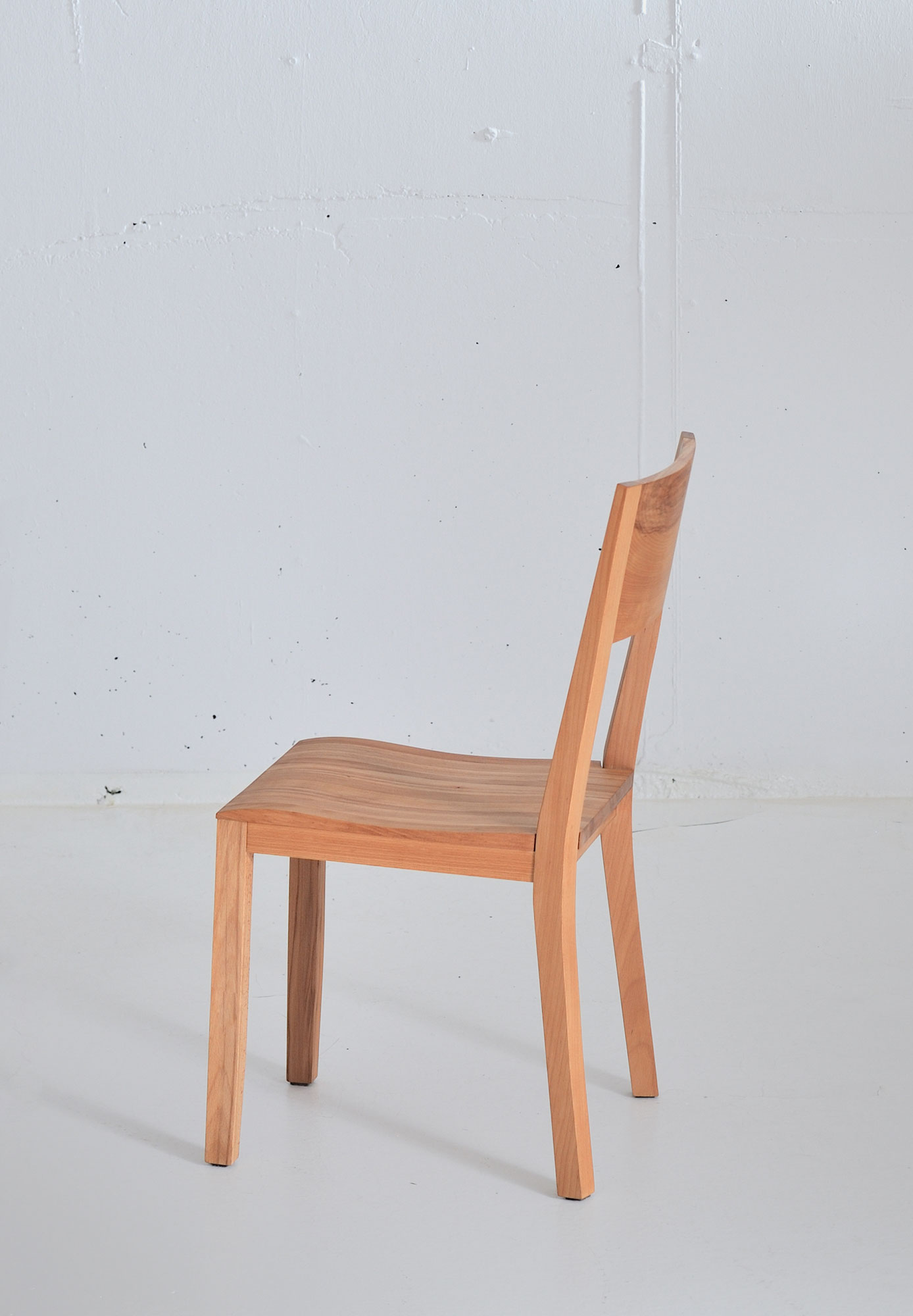 Dining Room Wooden Chair NOMI 3738 custom made in solid wood by vitamin design