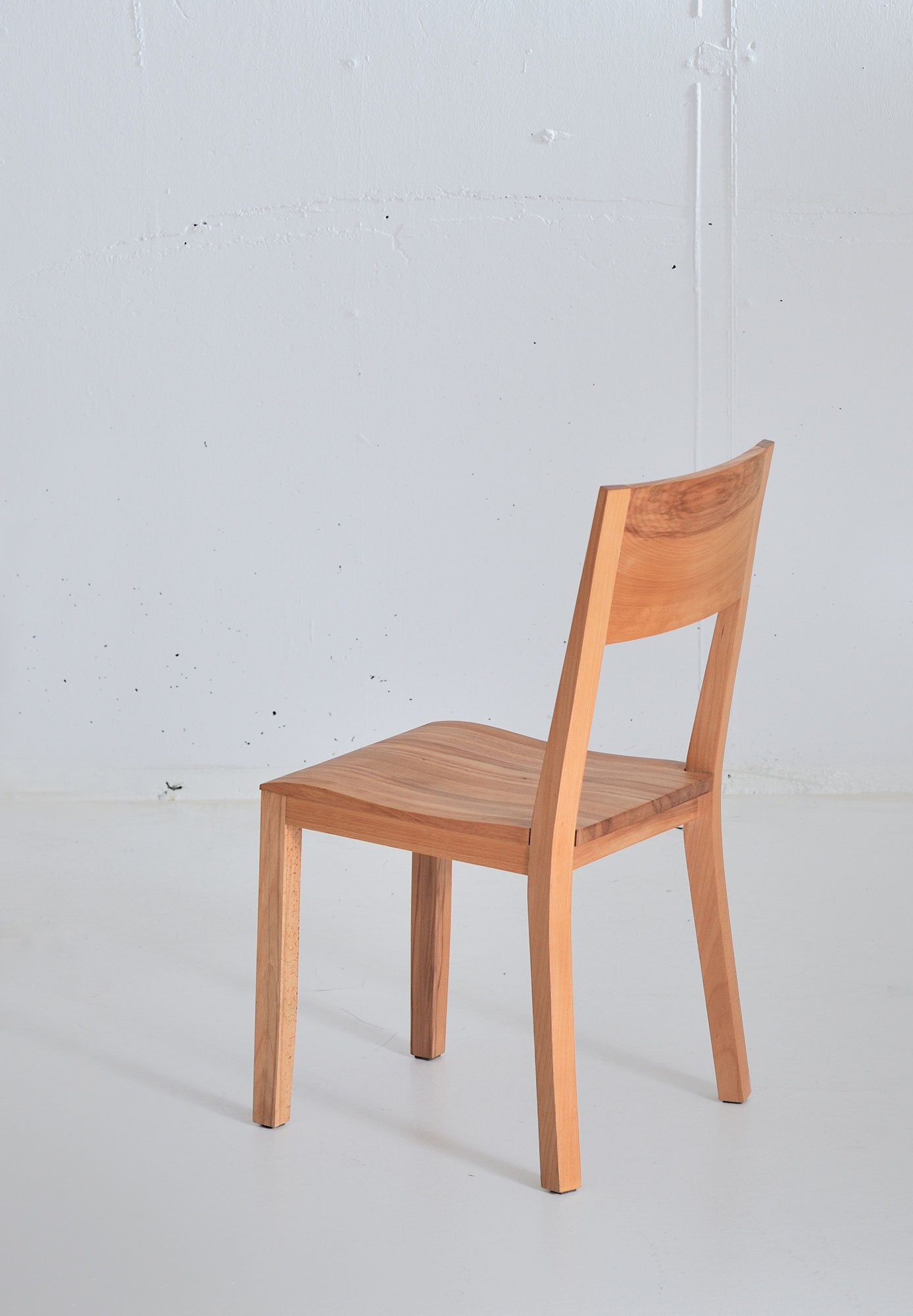 Dining Room Wooden Chair NOMI 3739 custom made in solid wood by vitamin design