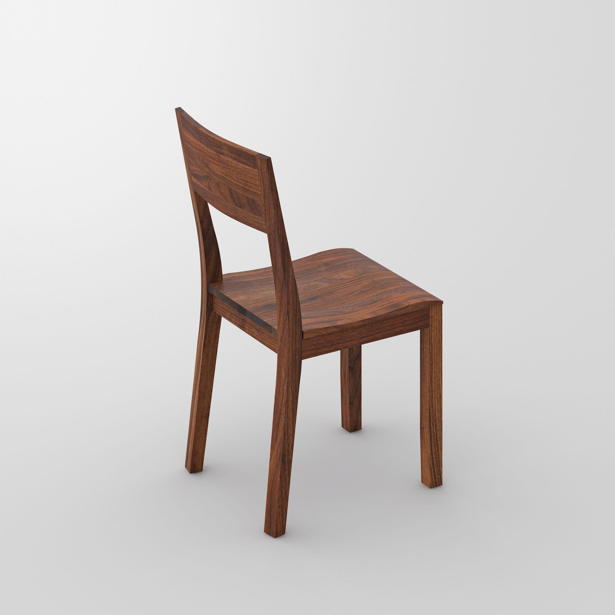 Dining Room Wooden Chair NOMI cam3 custom made in solid wood by vitamin design