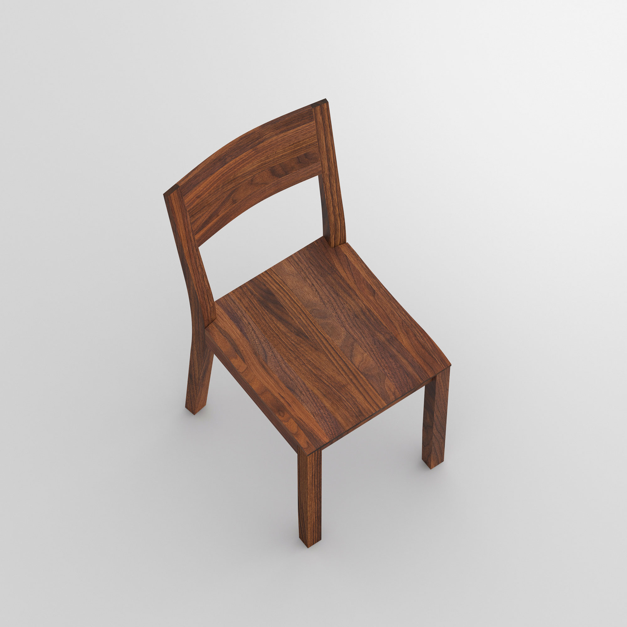 Dining Room Wooden Chair NOMI cam2 custom made in solid wood by vitamin design