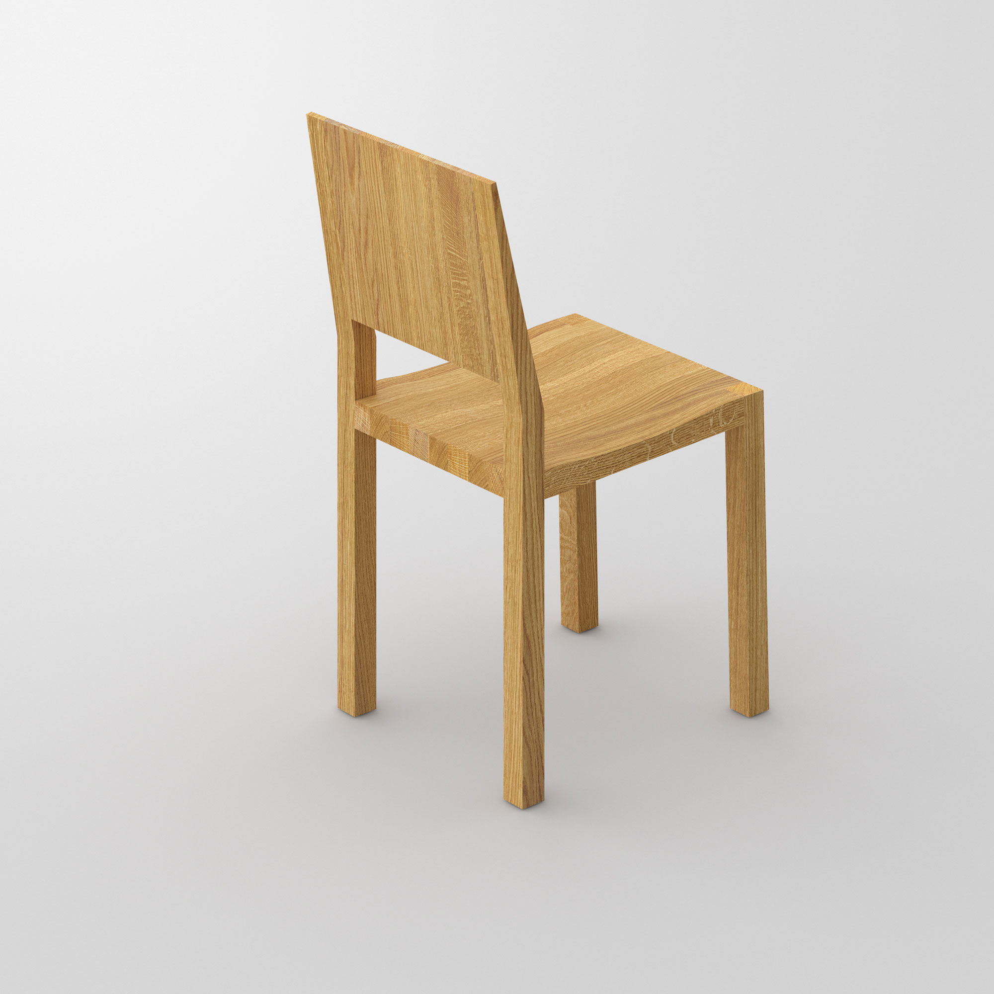 Solid Wood Chair TAU cam3 custom made in solid wood by vitamin design