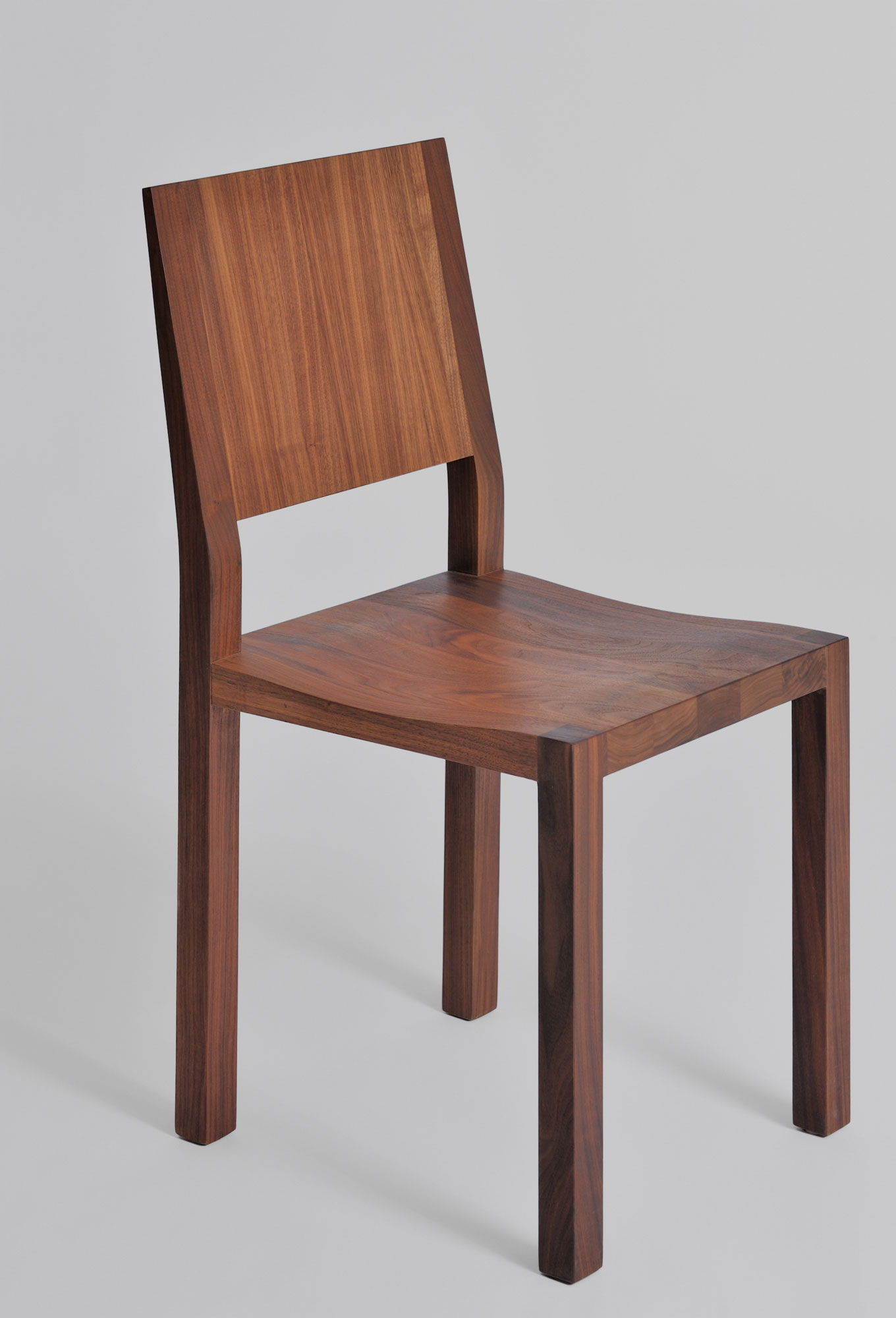 Solid Wood Chair TAU 1 custom made in solid wood by vitamin design