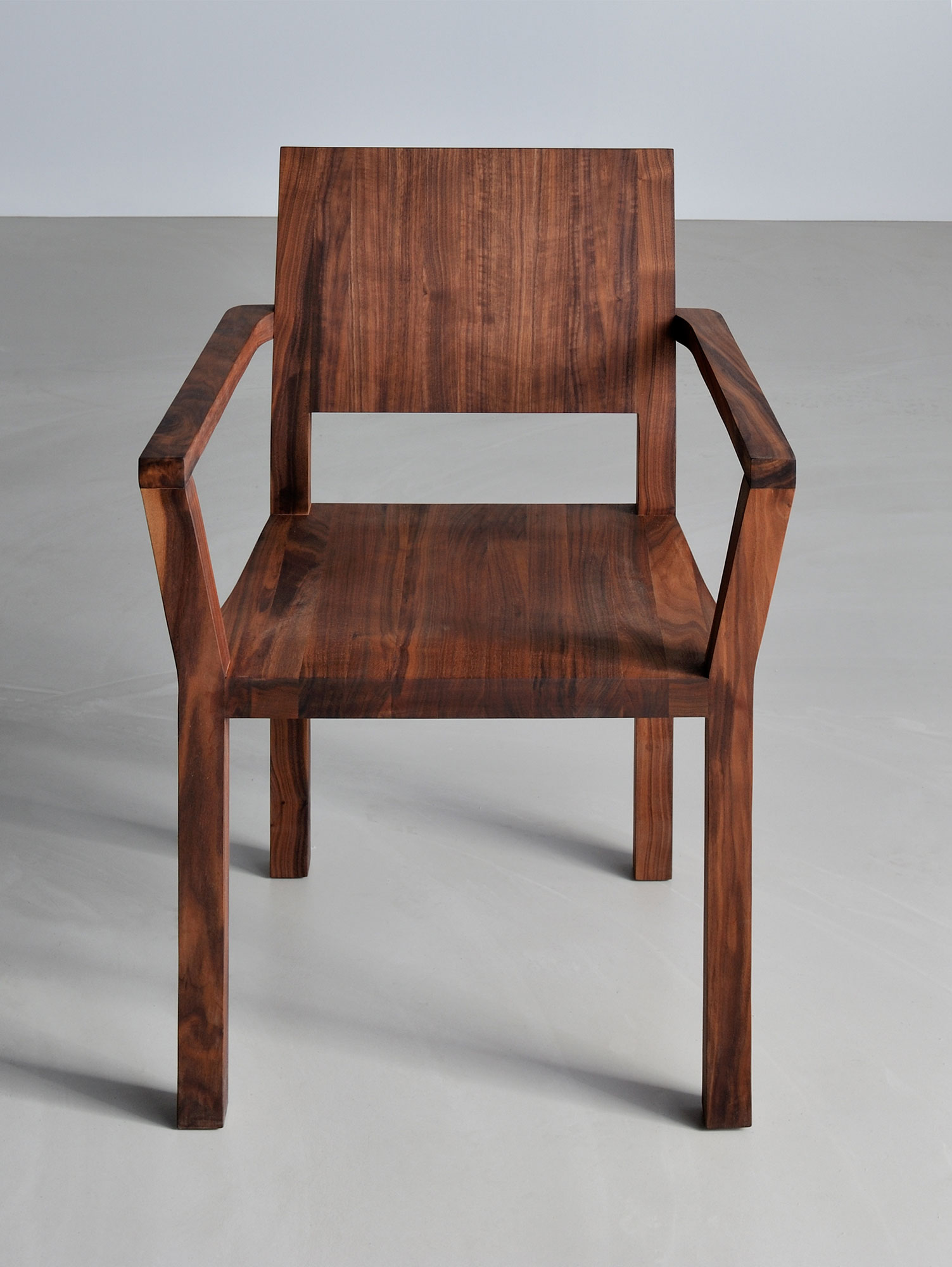 Solid Wood Armchair TAU-A 3328a custom made in solid wood by vitamin design