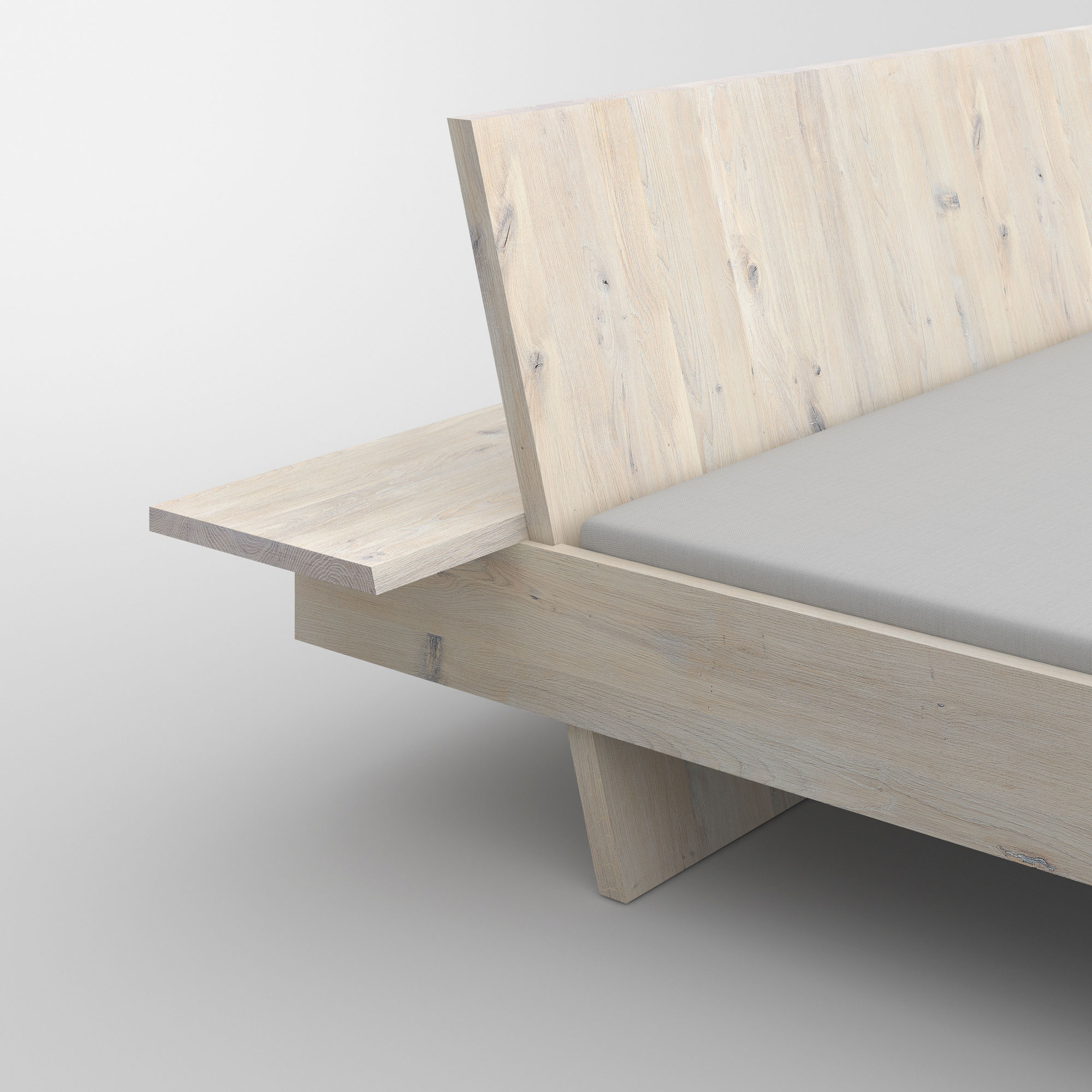 Design Solid Wood Bed SOMNIA cam4 custom made in solid wood by vitamin design
