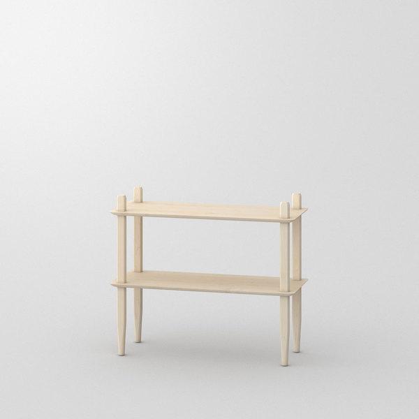 Design Shelf AETAS Cam1 Custom Made In Solid American Maple, Chalked By  Vitamin Design