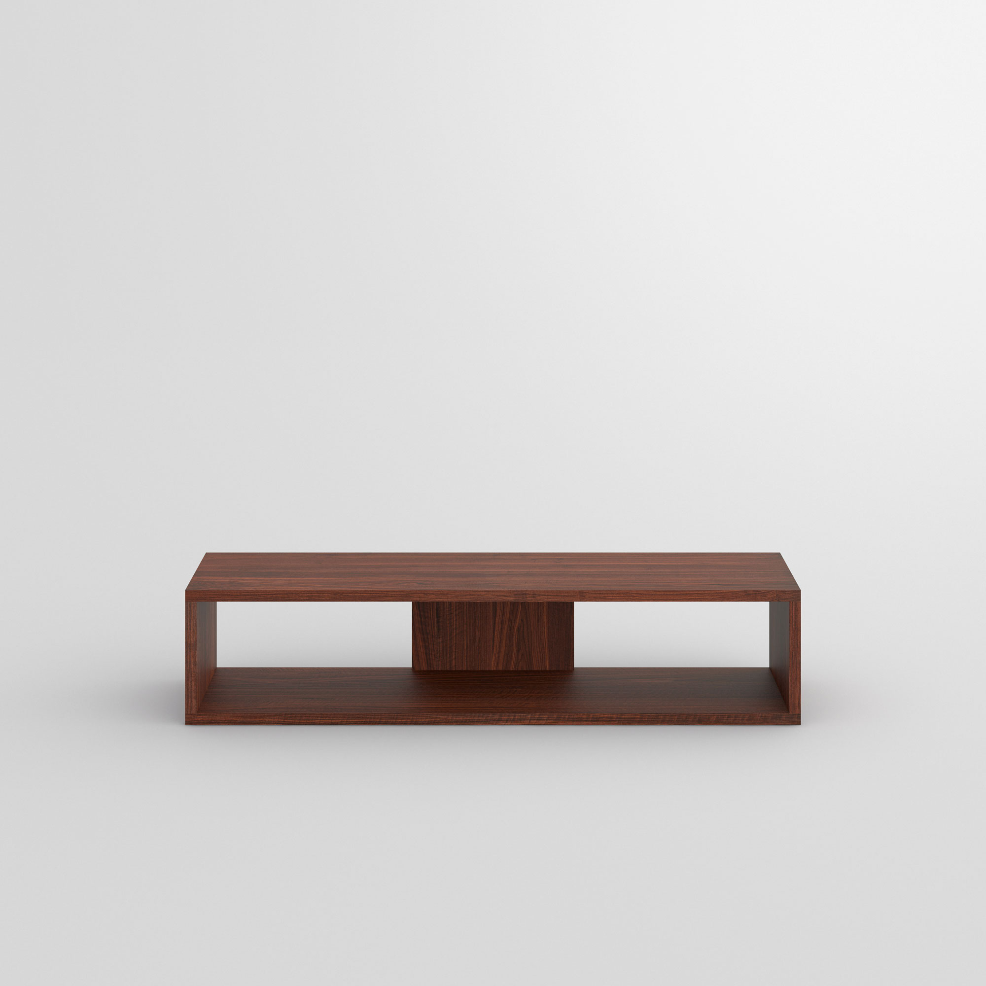 TV Shelf MENA TV cam3 custom made in solid wood by vitamin design