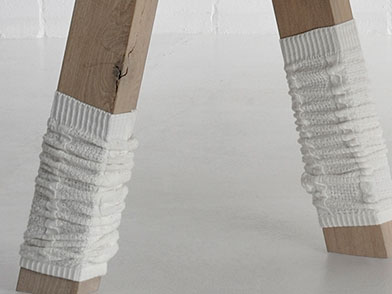 Table Leg Socks Accessory TABLE LEGWARMERS emv1 custom made in solid wood by vitamin design