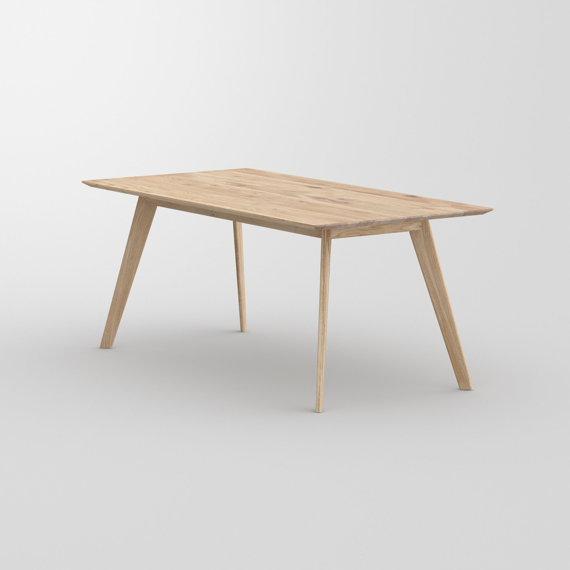 Soft Solid Wood Table CITIUS SOFT cam3 custom made in solid wood by vitamin design