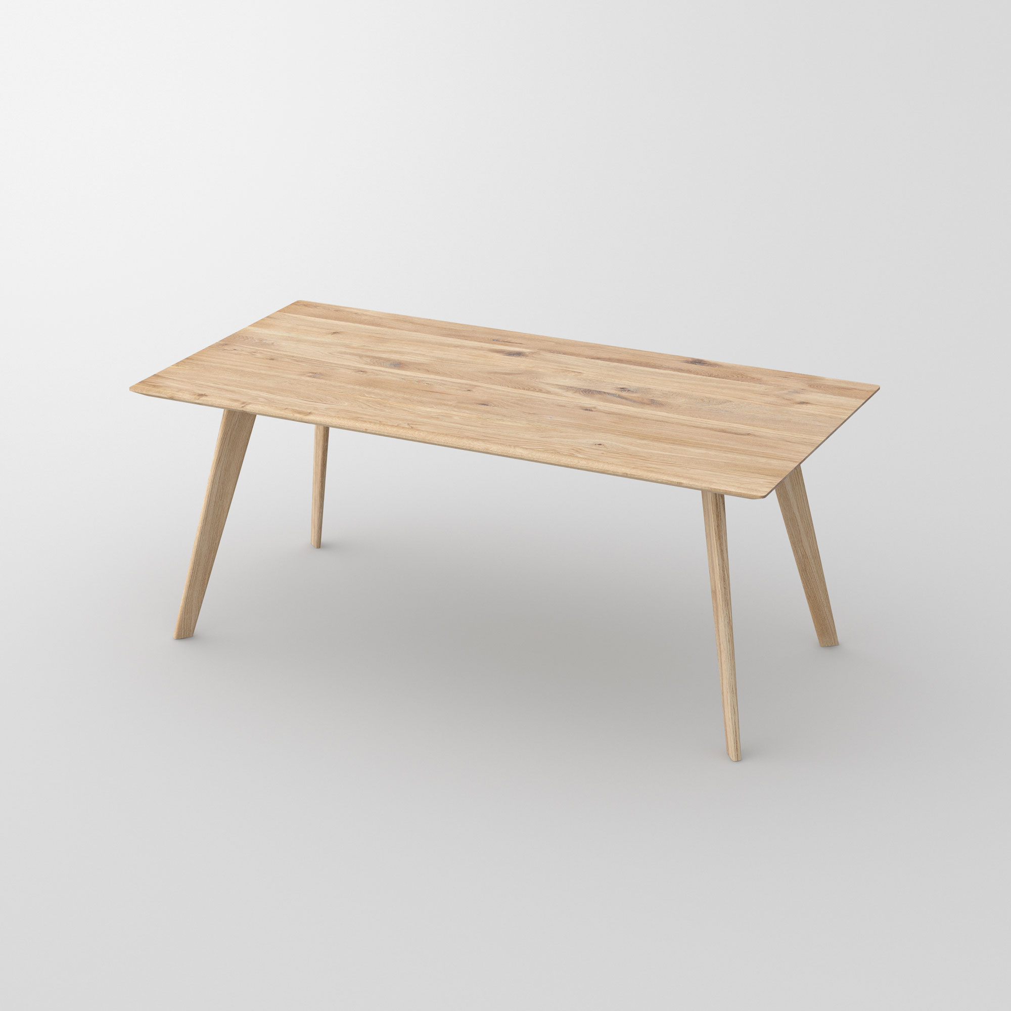 Soft Solid Wood Table CITIUS SOFT cam1 custom made in solid wood by vitamin design