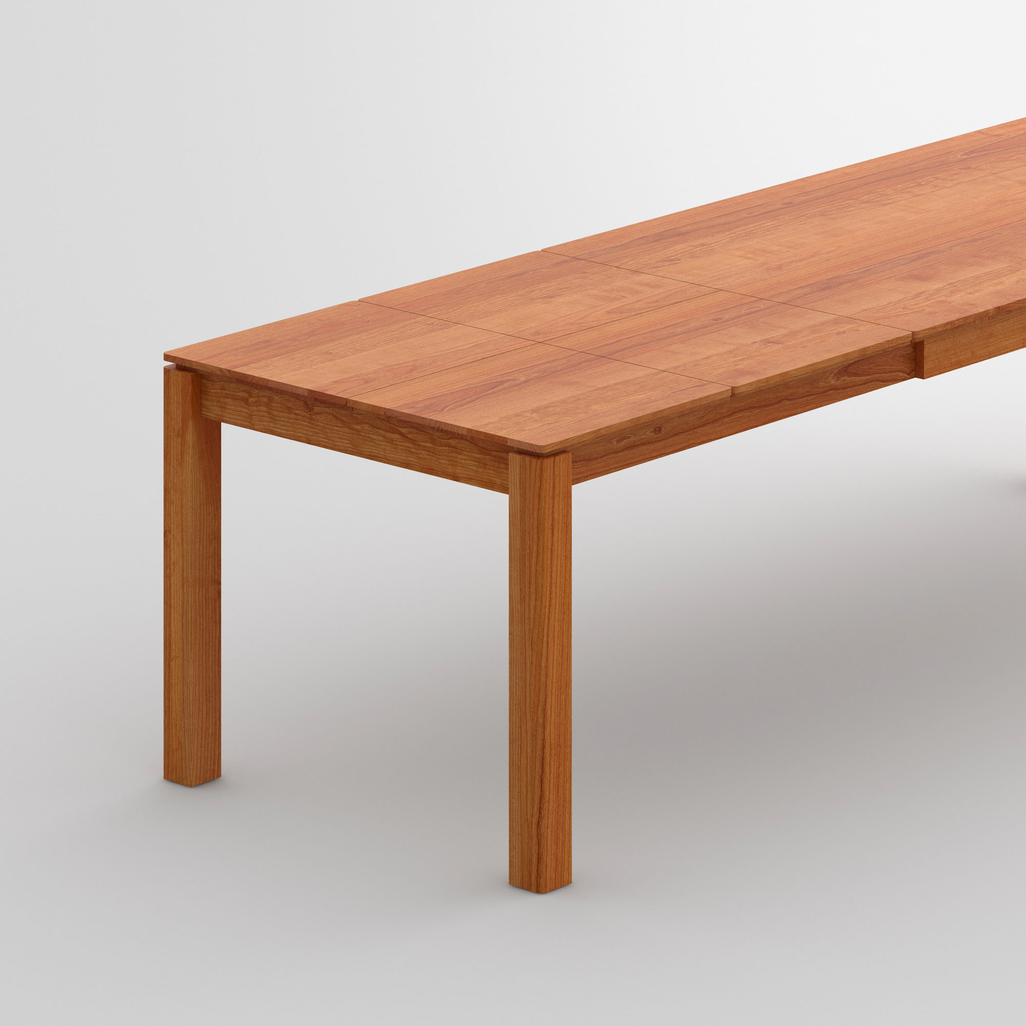Dining Table Butterfly-System VERSO BUTTERFLY cam2 custom made in solid wood by vitamin design