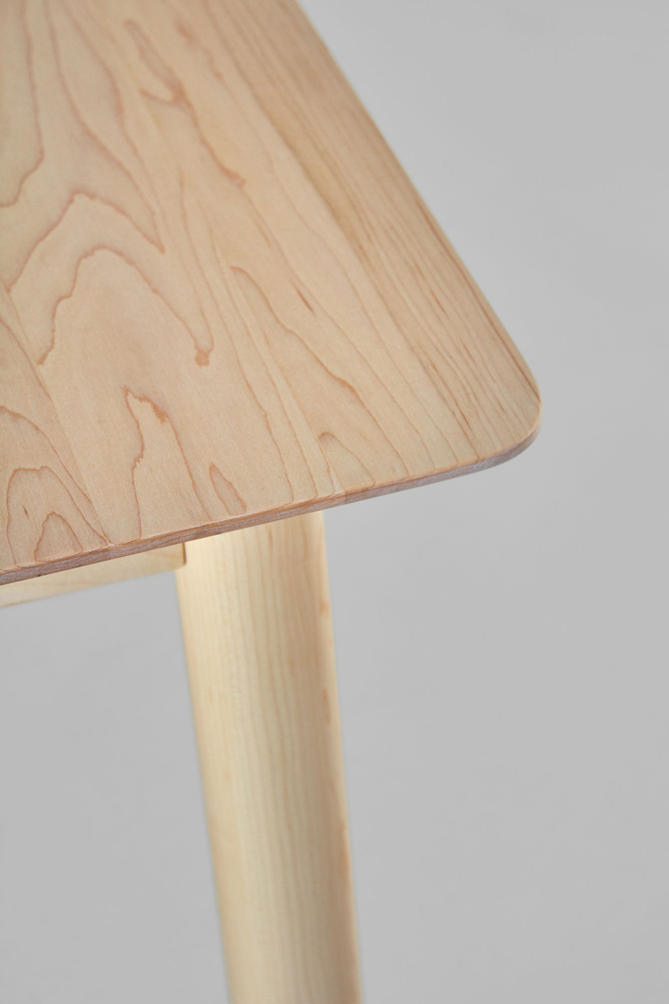 Style Wood Table LOCA 0309 custom made in solid wood by vitamin design