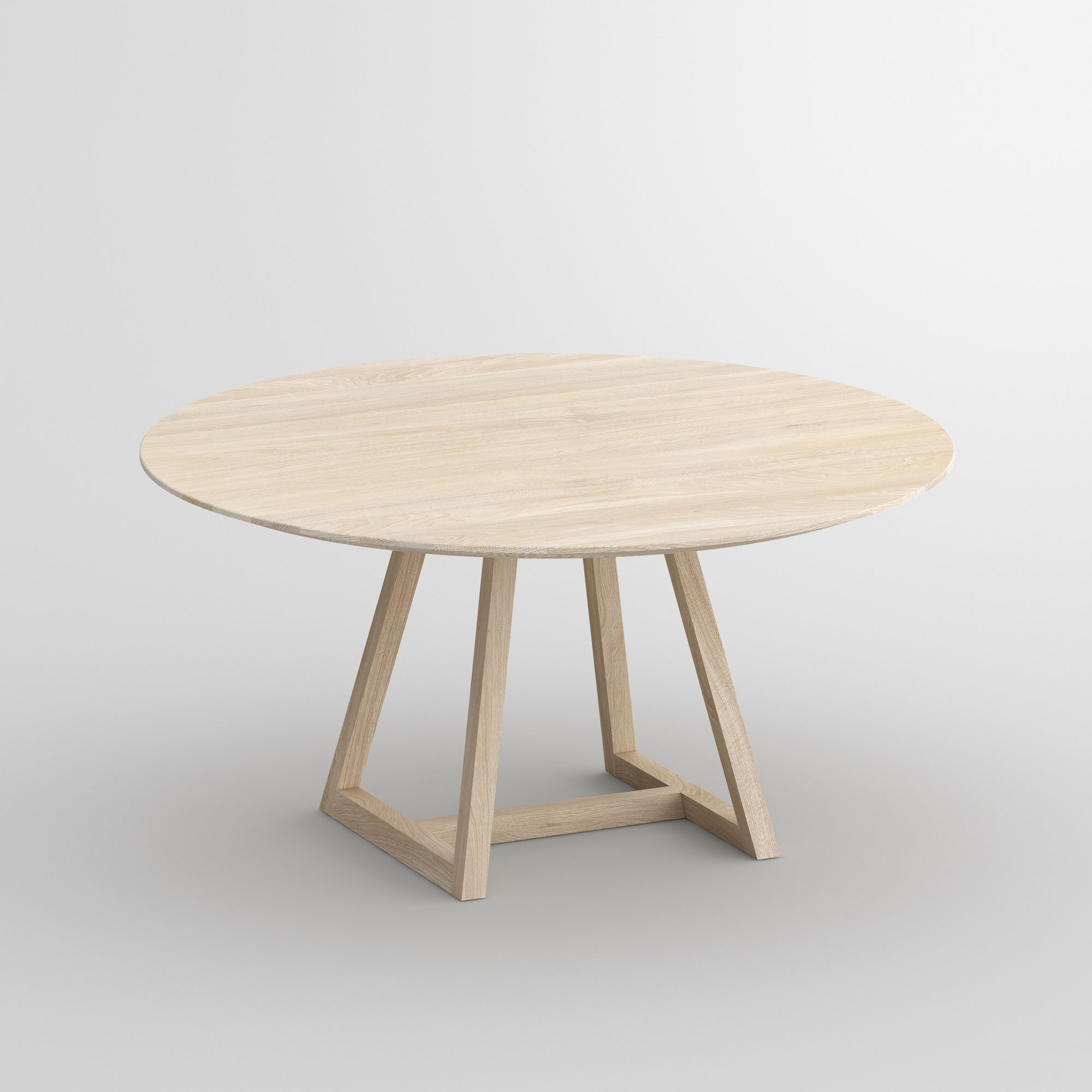 Round Table MARGO ROUND cam1 custom made in solid wood by vitamin design