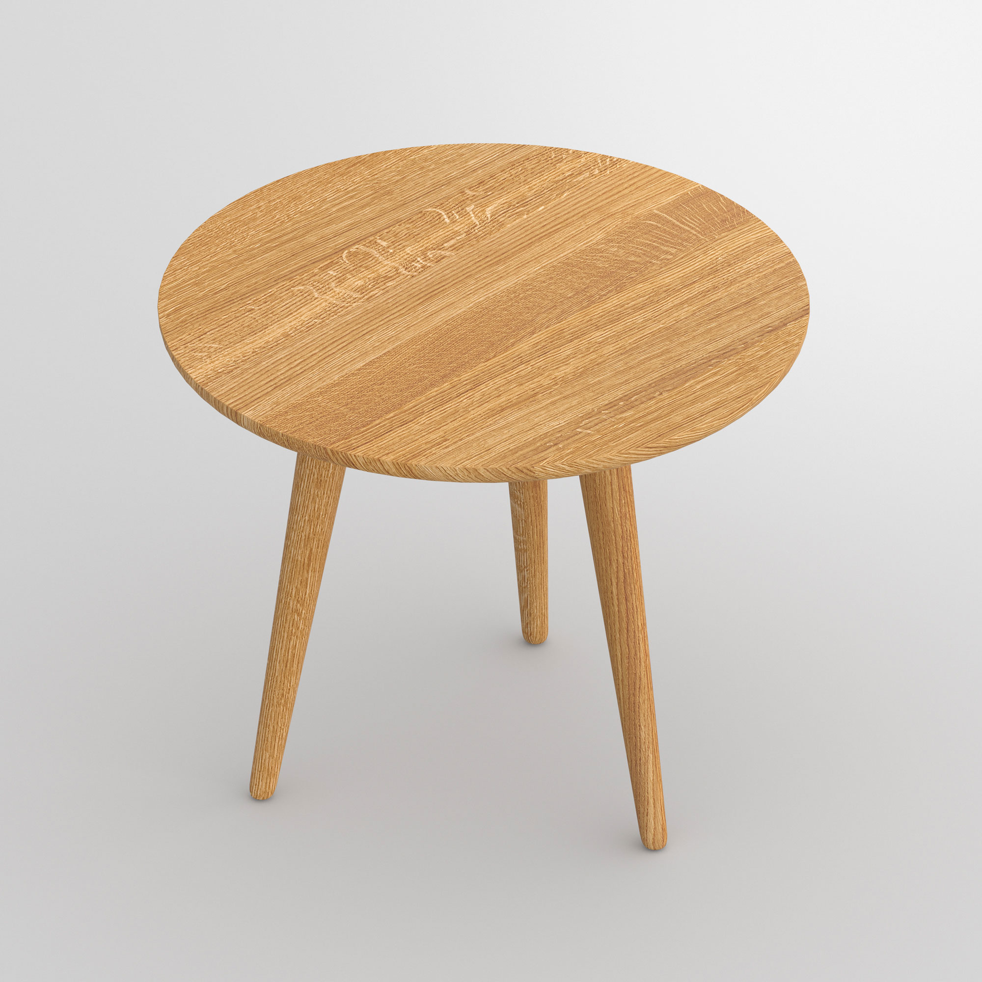 Round Coffee Table AMBIO ROUND vitamin-design custom made in solid wood by vitamin design