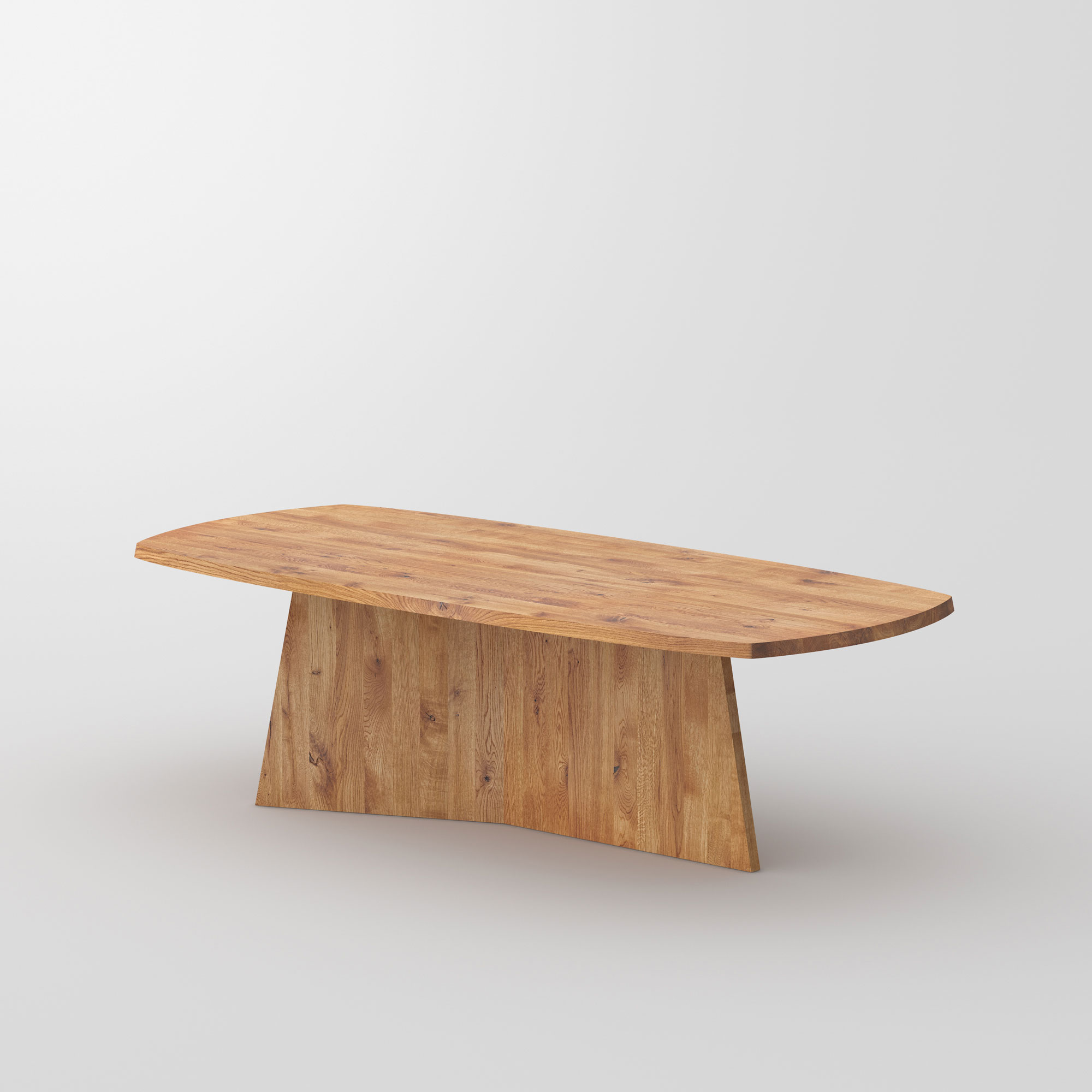 Design Dining Table LOTUS cam2 custom made in solid wood by vitamin design