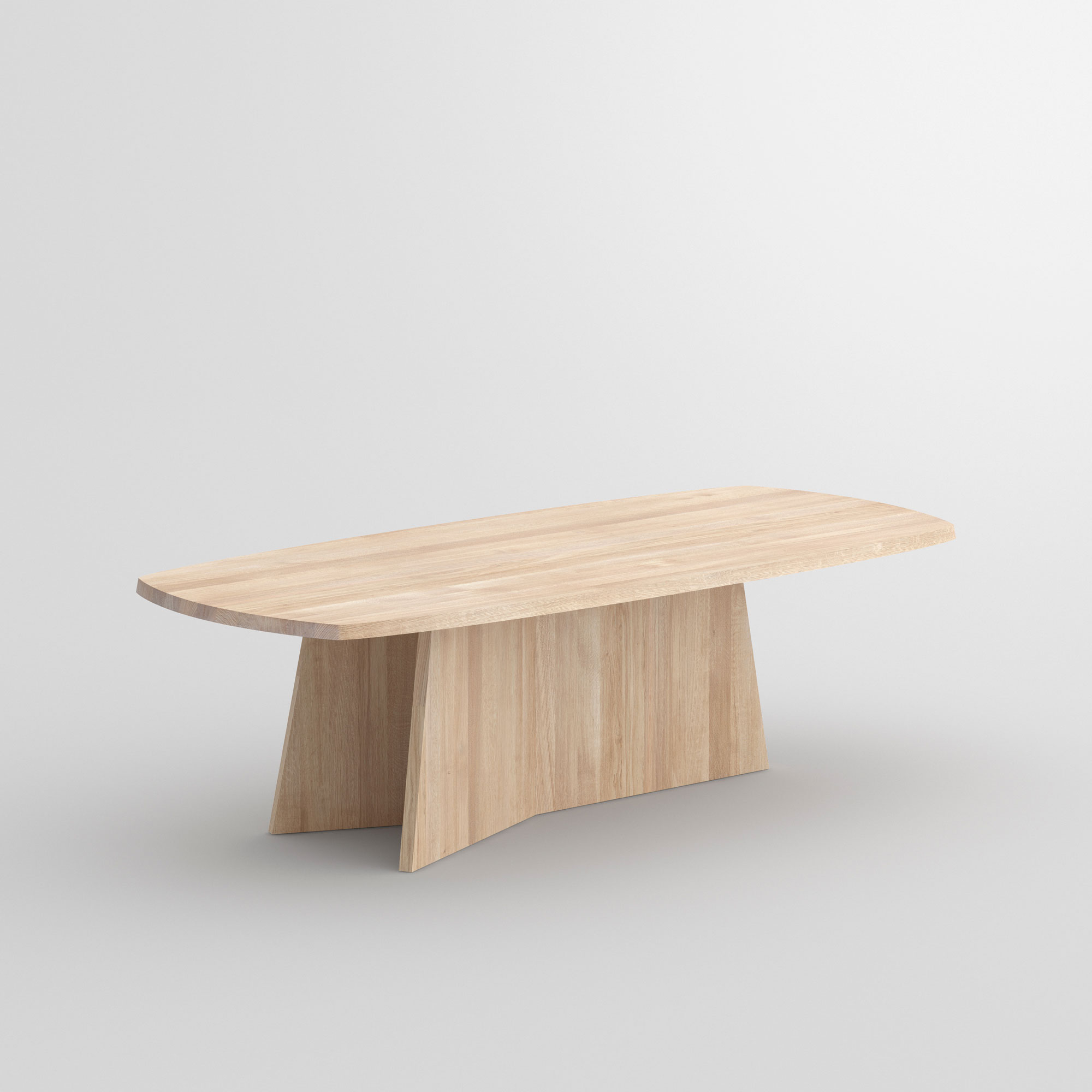 Design Dining Table LOTUS cam1 custom made in solid wood by vitamin design
